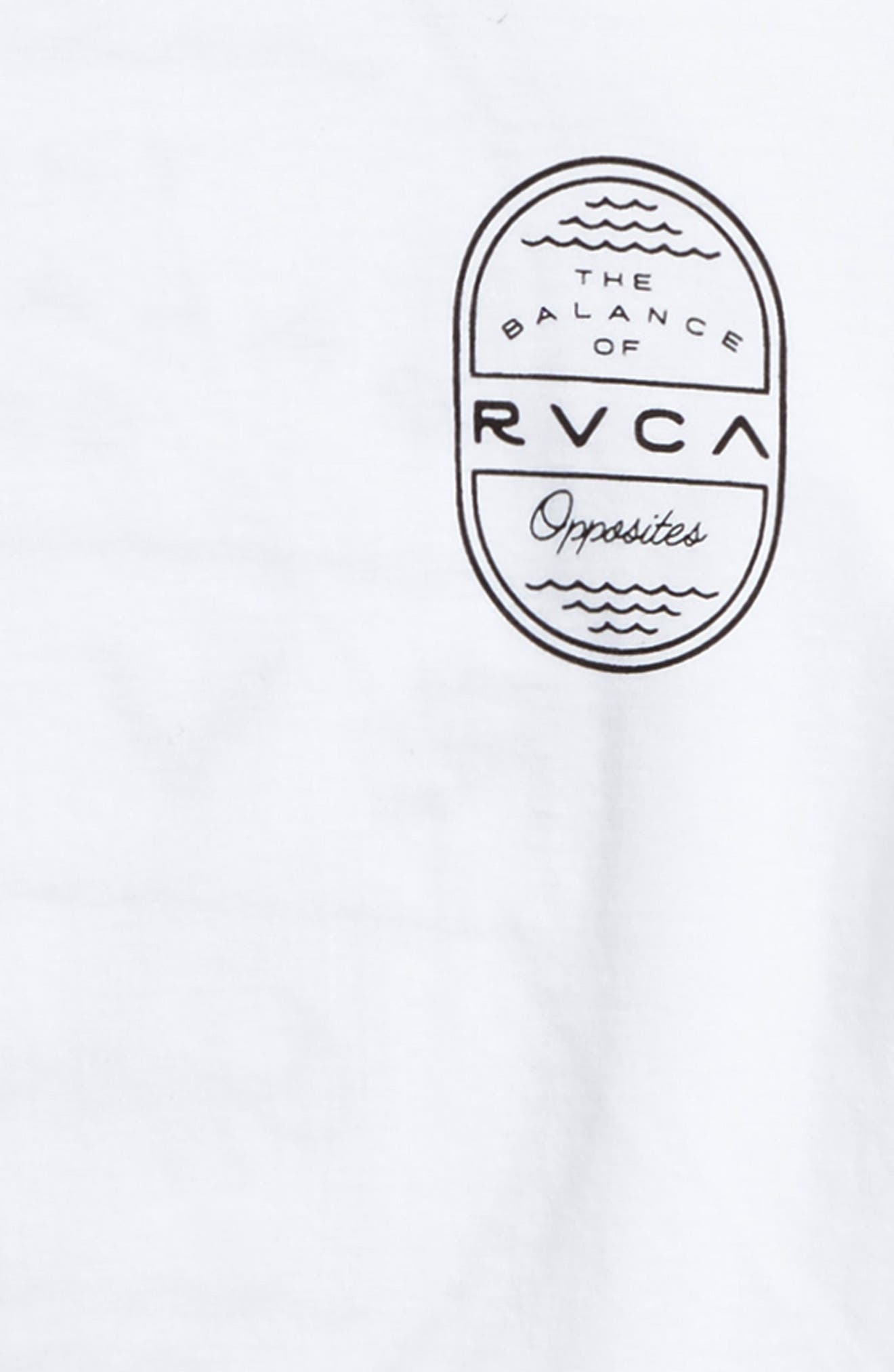 Alternate Image 3  - RVCA Sea Graphic T-Shirt (Big Boys)