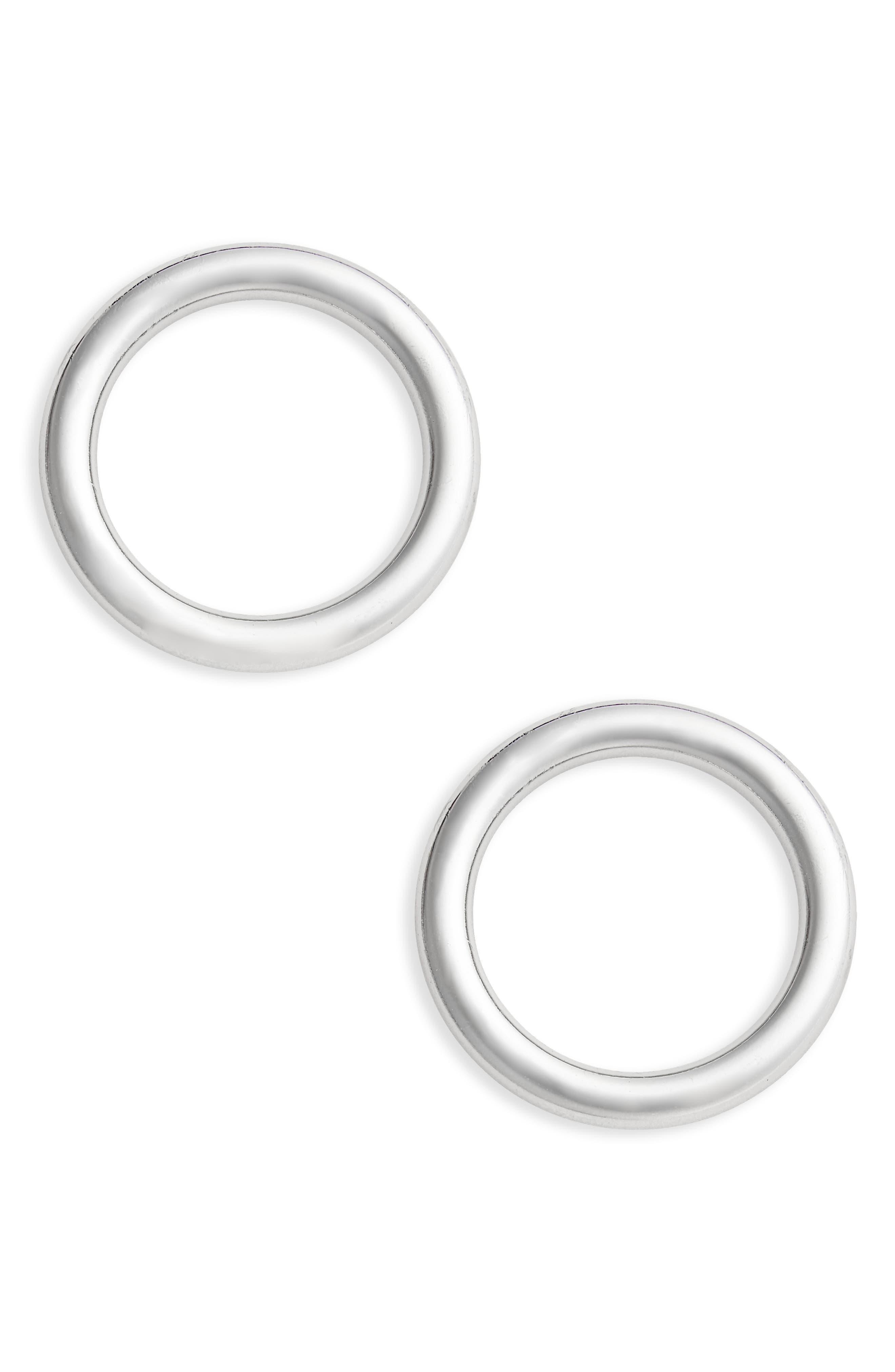 Alternate Image 1 Selected - Topshop Circular Earrings
