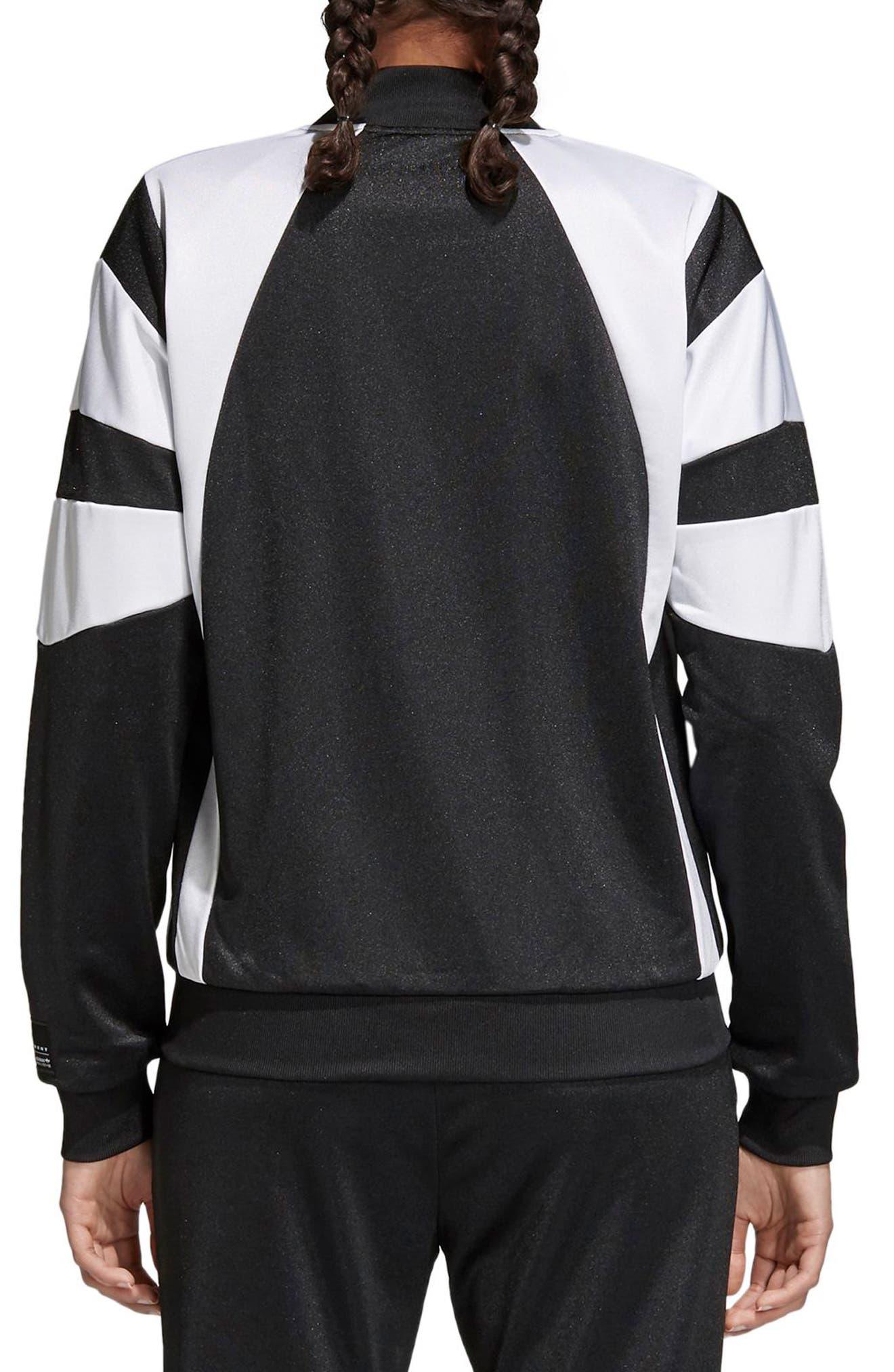 Originals Superstar Track Jacket,                             Alternate thumbnail 2, color,                             Black/ White
