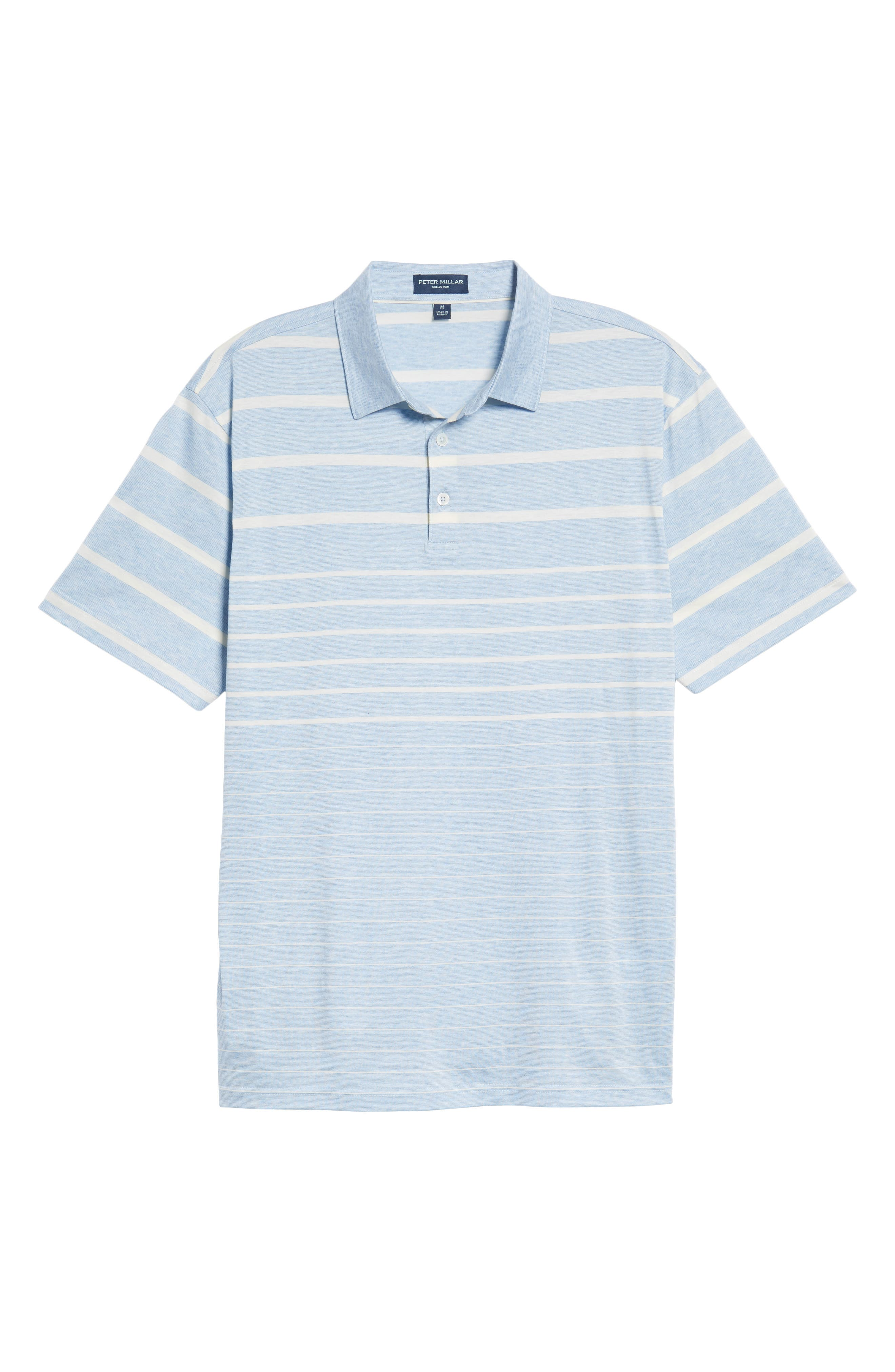 Alternate Image 6  - Peter Millar Collection Summer Swells Stripe Polo
