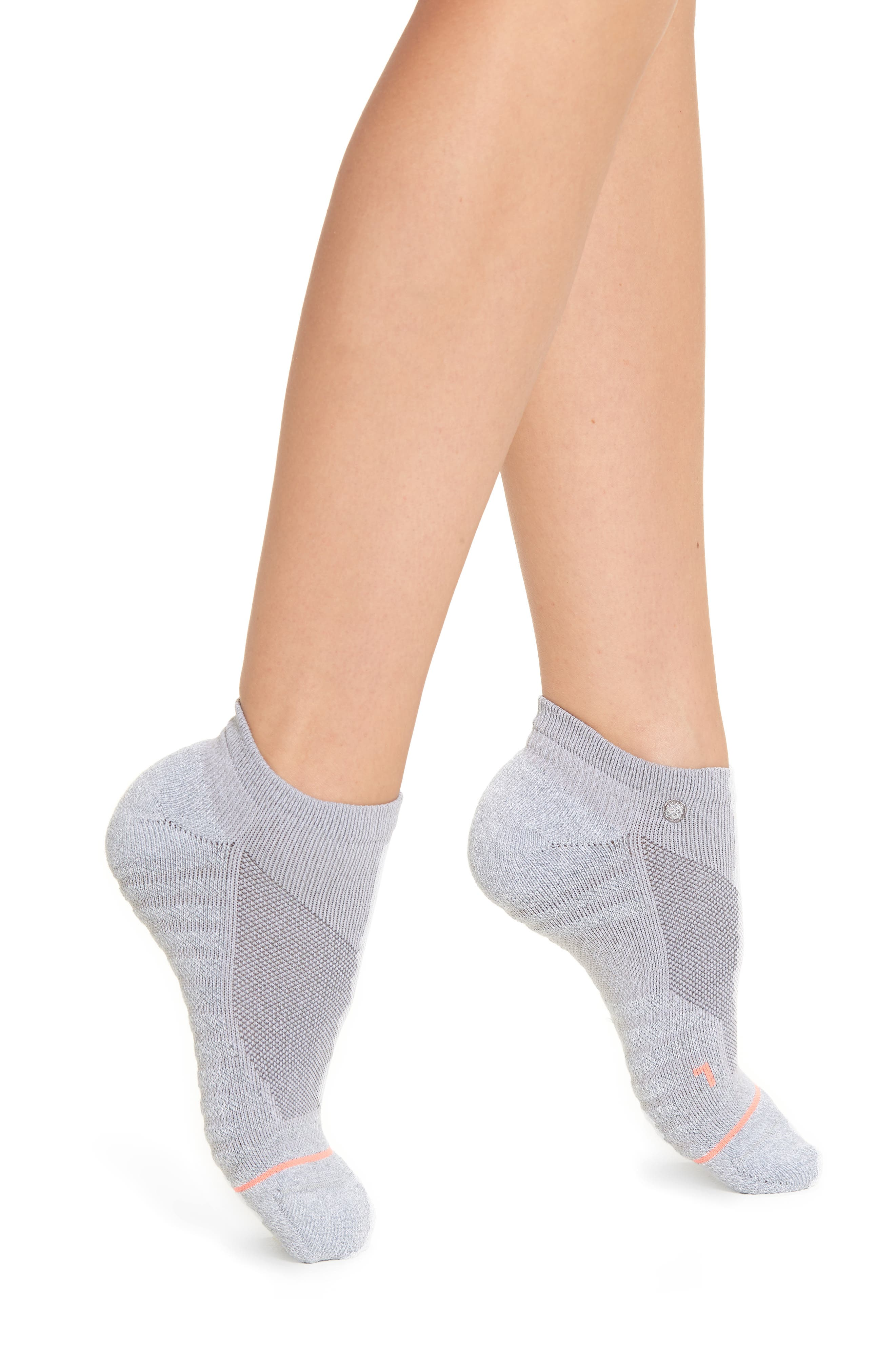 Icon Athletic Low Cut Socks,                             Main thumbnail 1, color,                             Grey