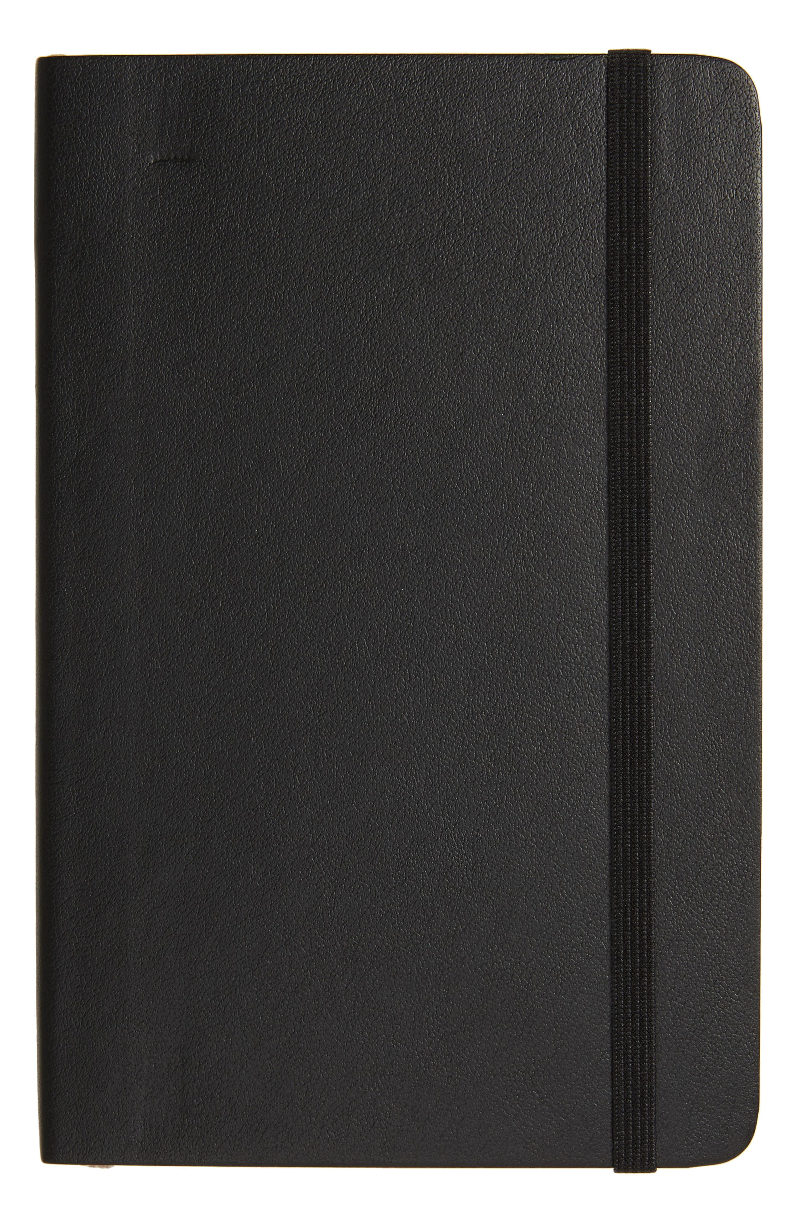 Classic Pocket Soft Cover Notebook,                         Main,                         color, Black