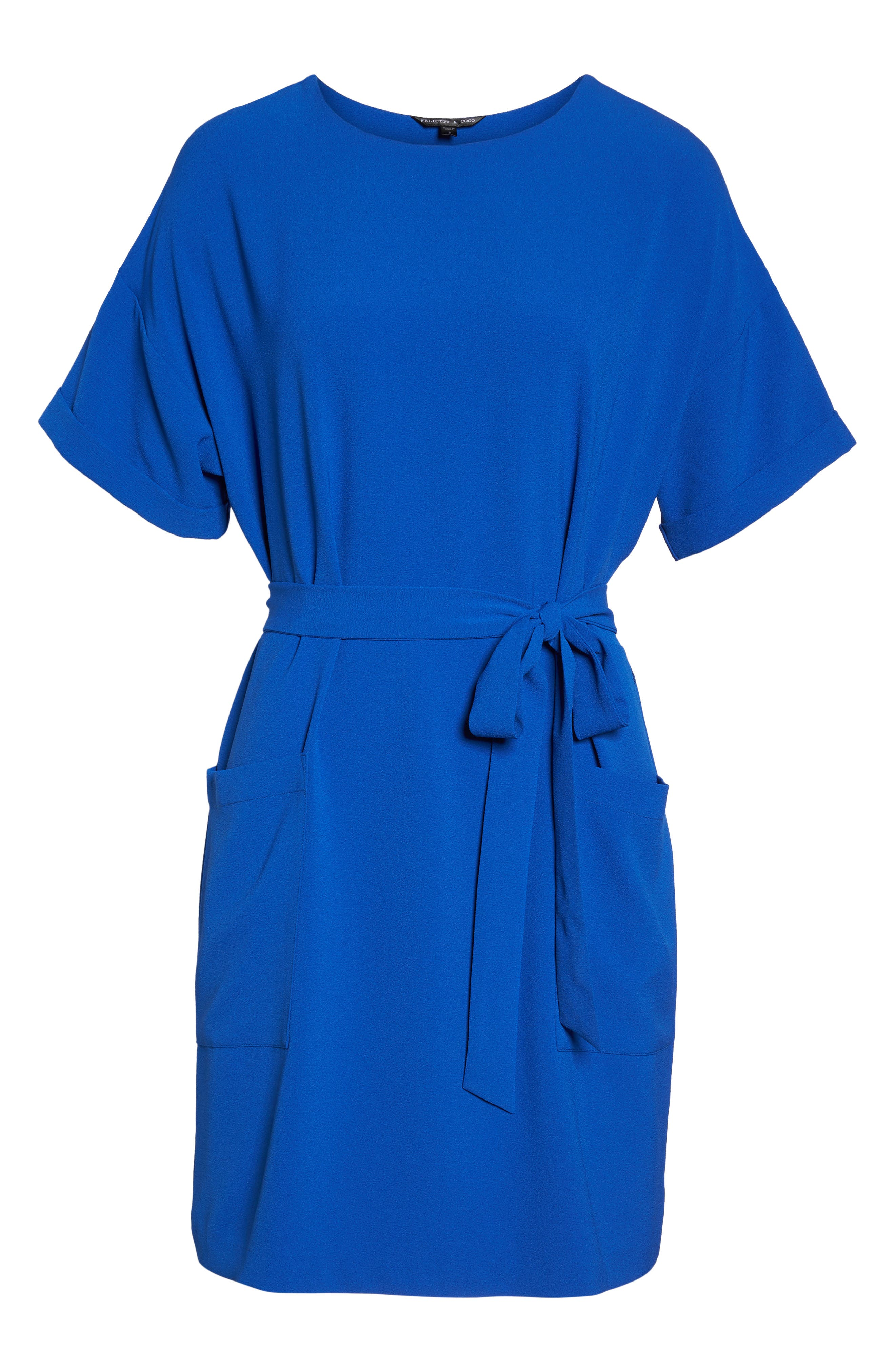 Alternate Image 6  - Felicity & Coco Halia Tie Waist Dress (Regular & Petite)
