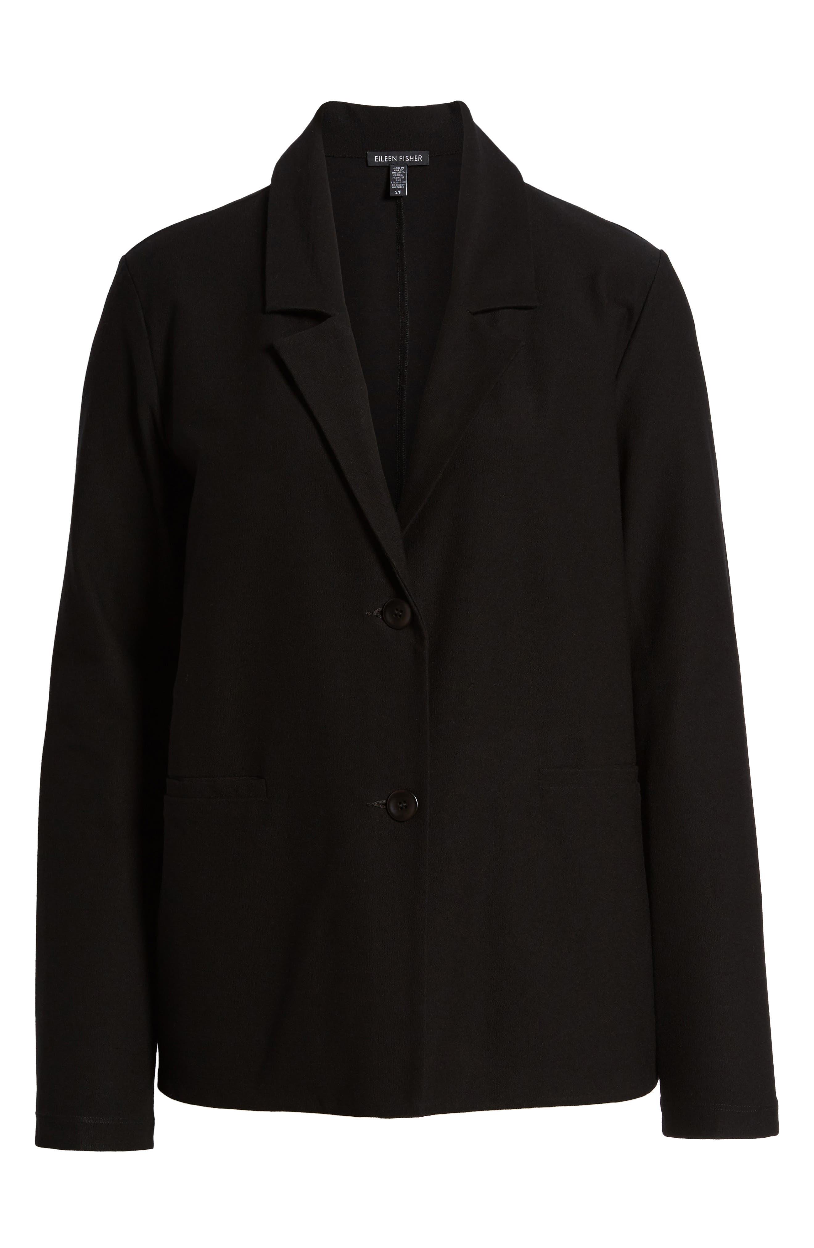 Alternate Image 6  - Eileen Fisher Notch Collar Boxy Jacket
