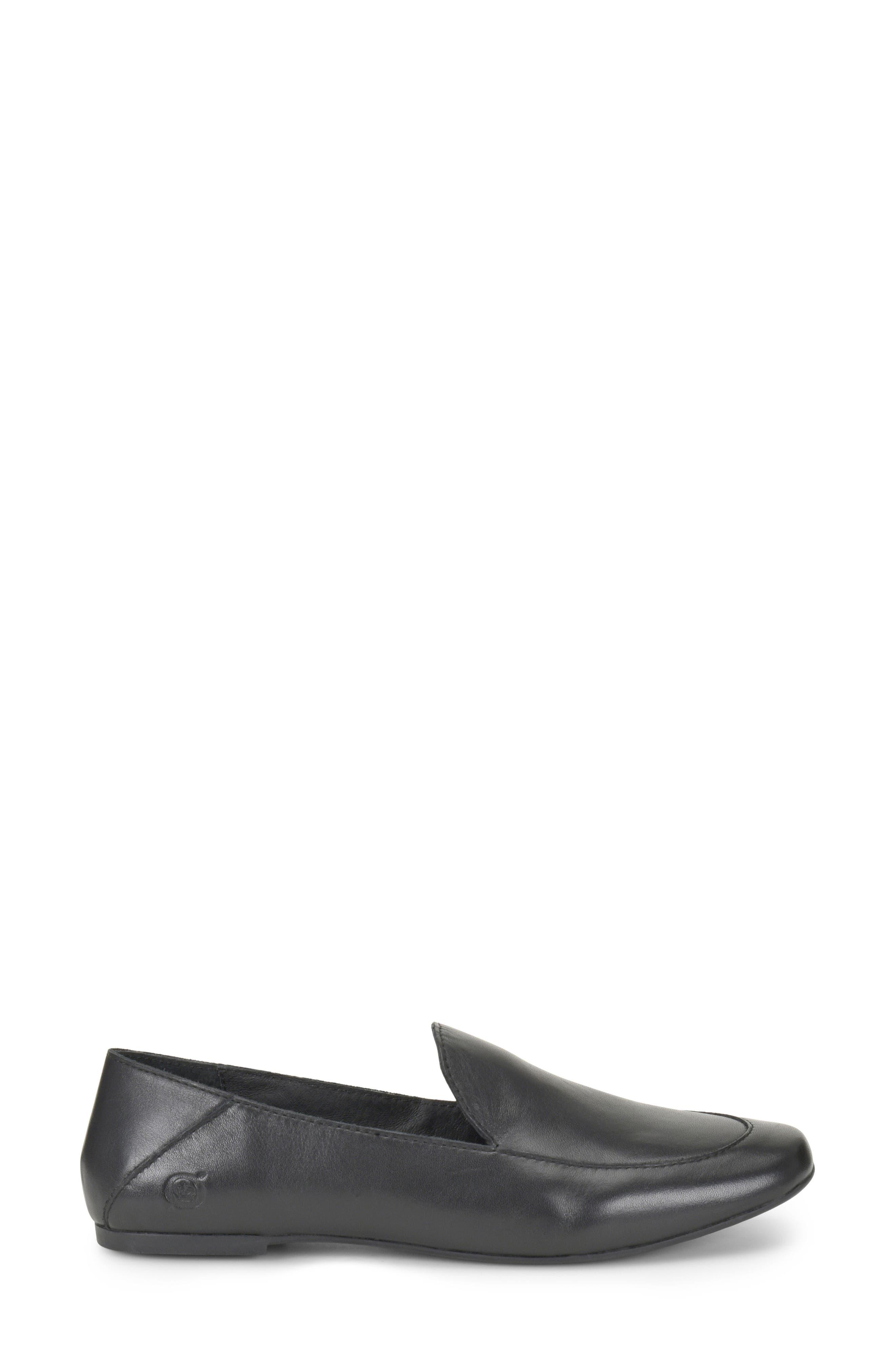 Carib Loafer,                             Alternate thumbnail 3, color,                             Black Leather