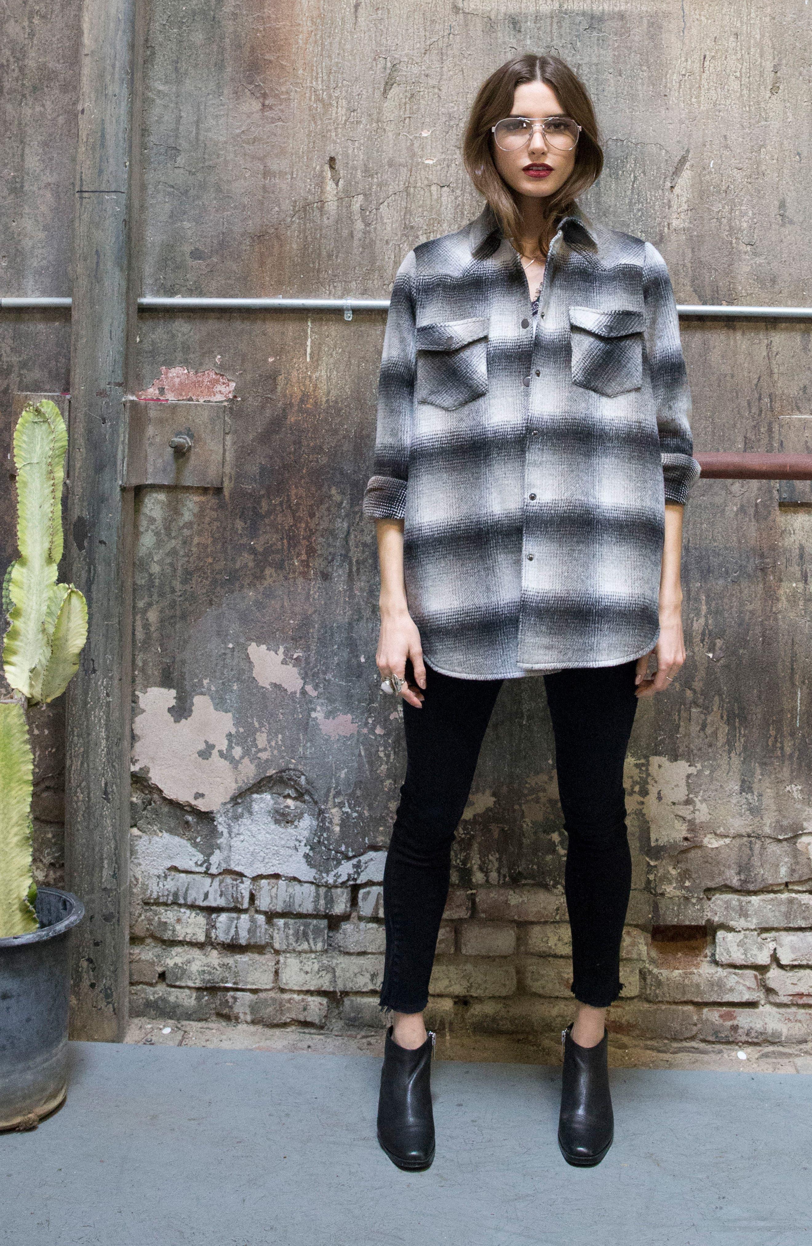 Alternate Image 10  - Lira Clothing Keegan Plaid Jacket
