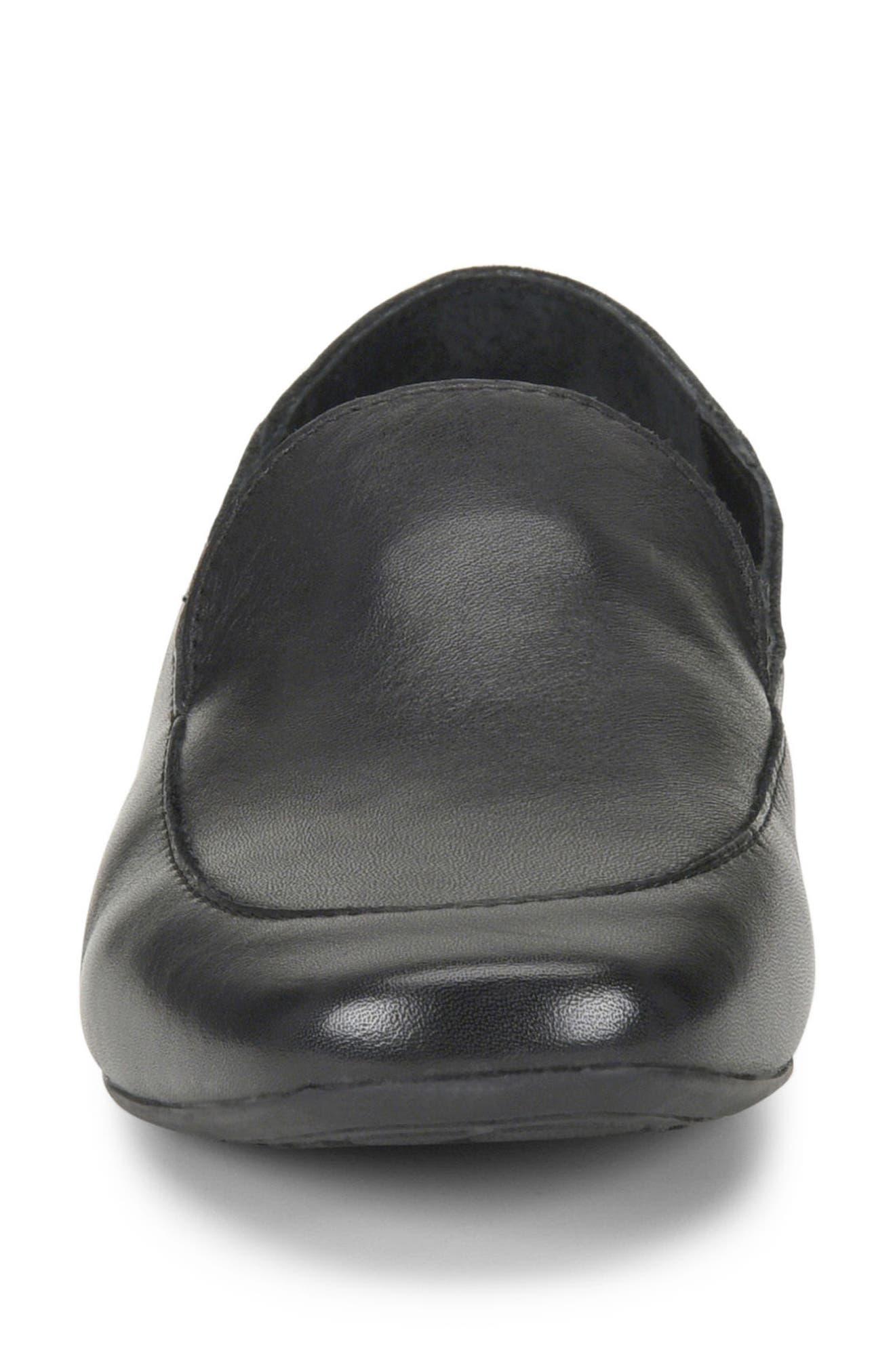 Carib Loafer,                             Alternate thumbnail 4, color,                             Black Leather