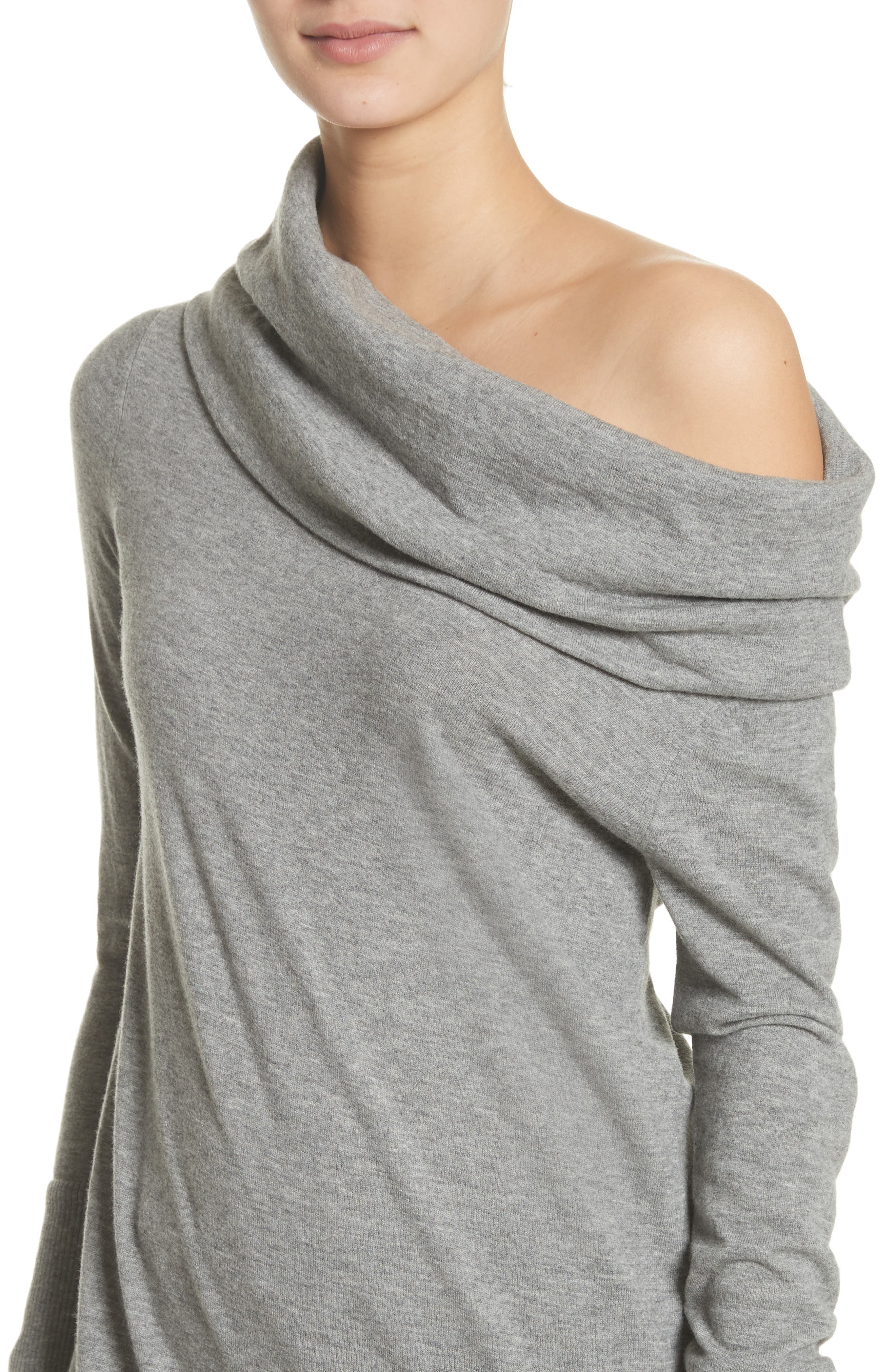 Alternate Image 4  - Lafayette 148 New York Convertible Off the Shoulder Sweater