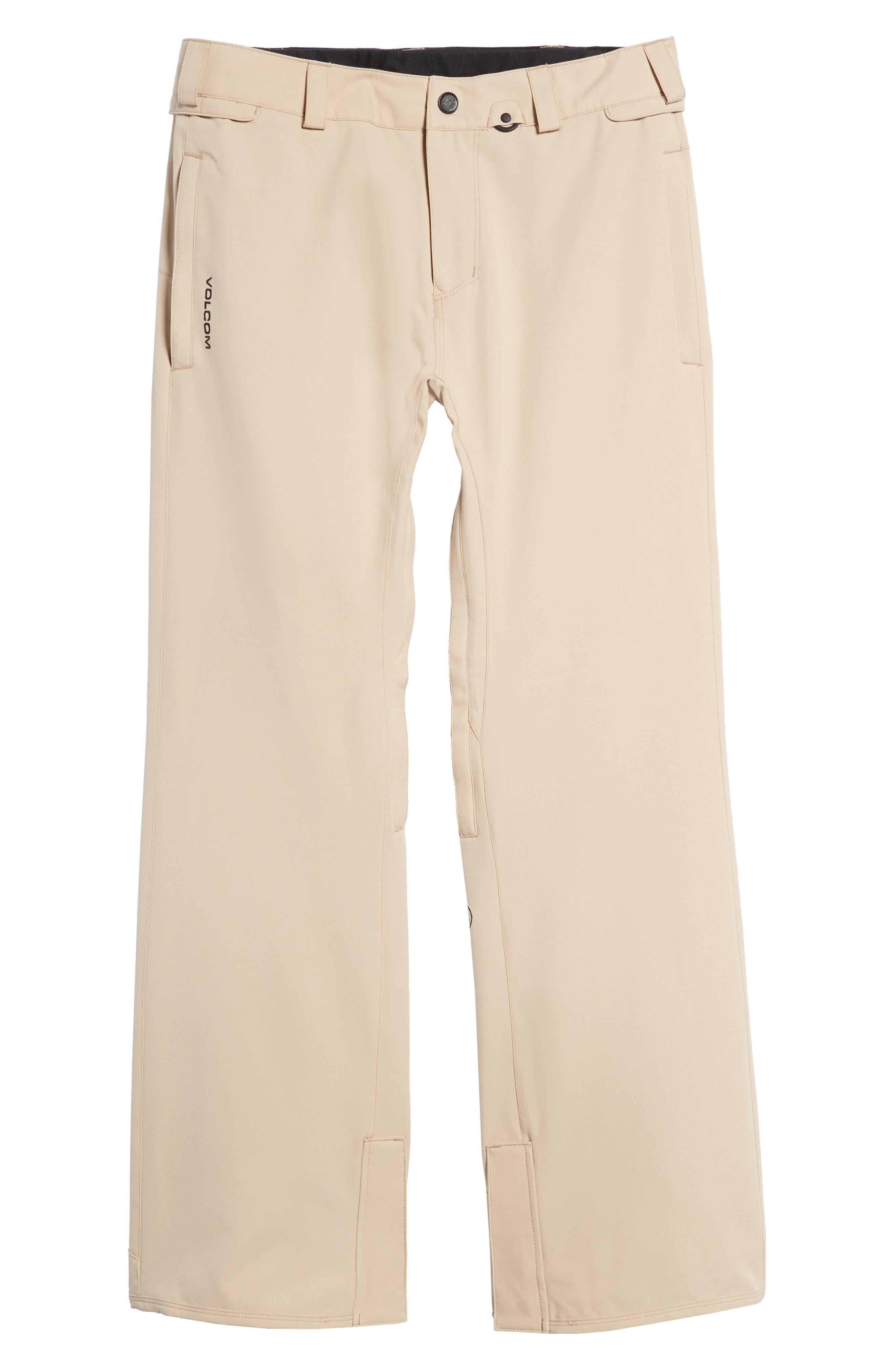 Weatherproof Snow Chino Pants,                             Alternate thumbnail 6, color,                             Khaki