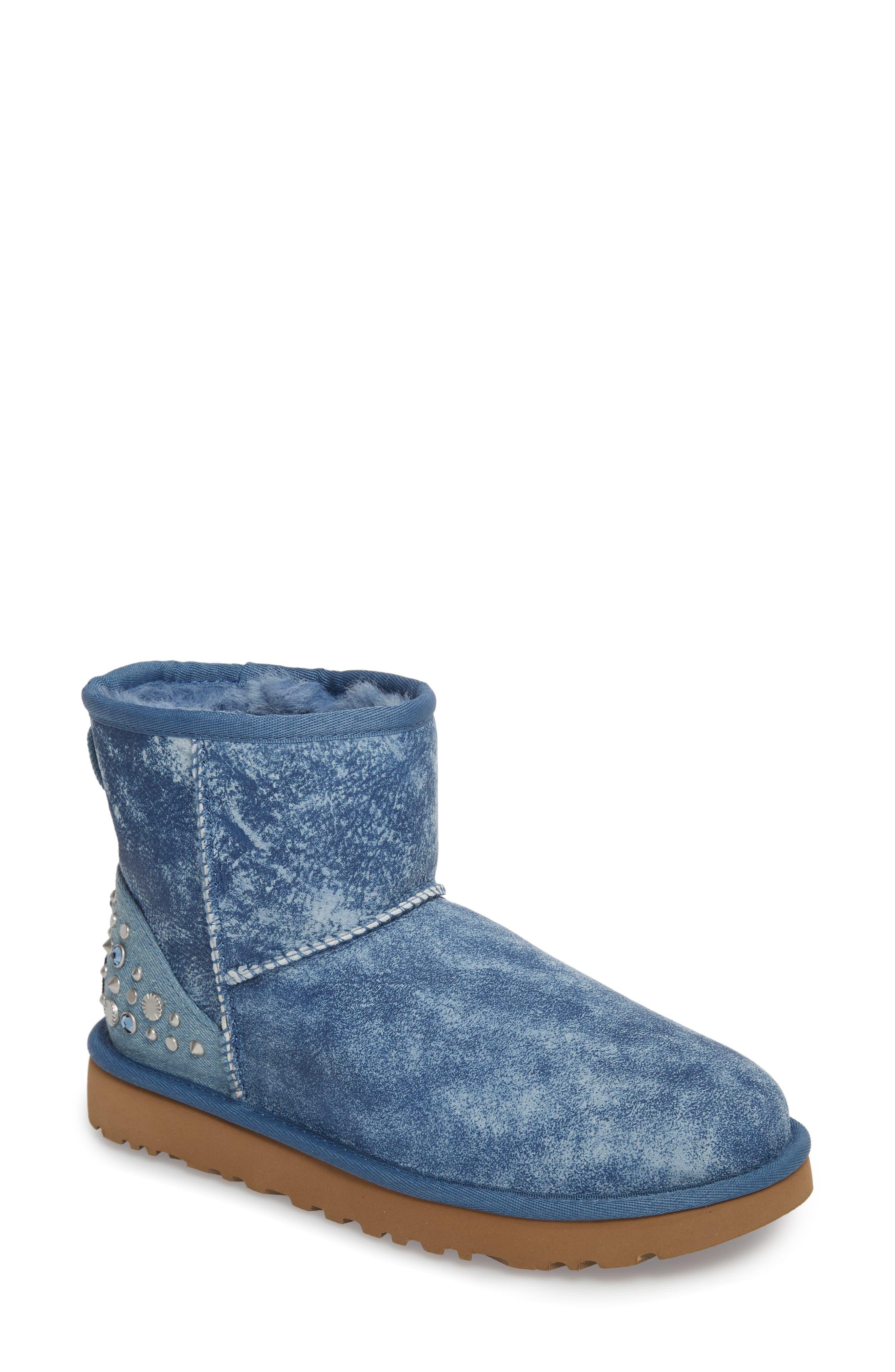 Alternate Image 1 Selected - UGG® Mini Studded Bling Boot (Women)