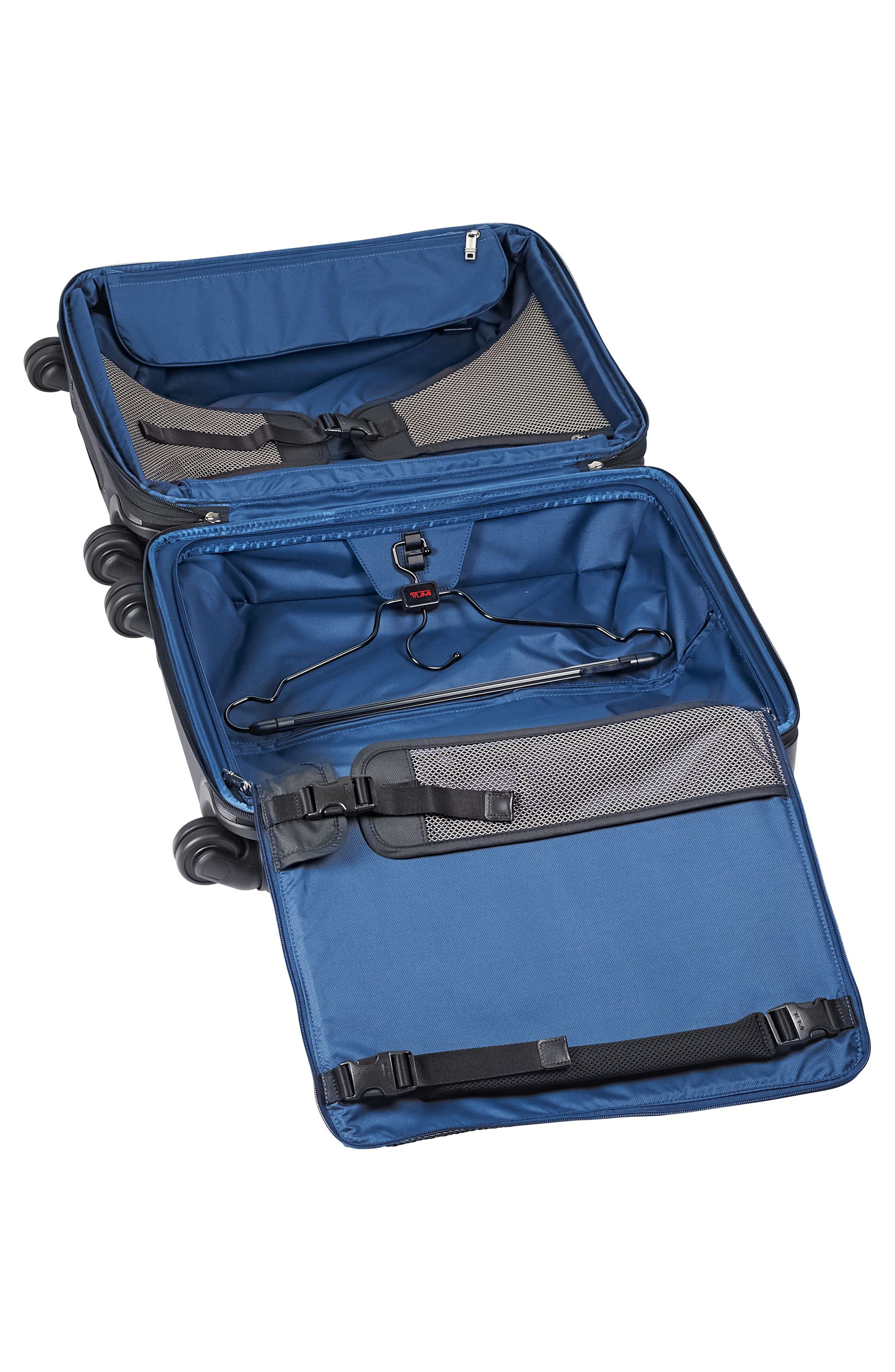 Alpha 2 22-Inch Continental Wheeled Carry-On,                             Alternate thumbnail 3, color,                             Pewter