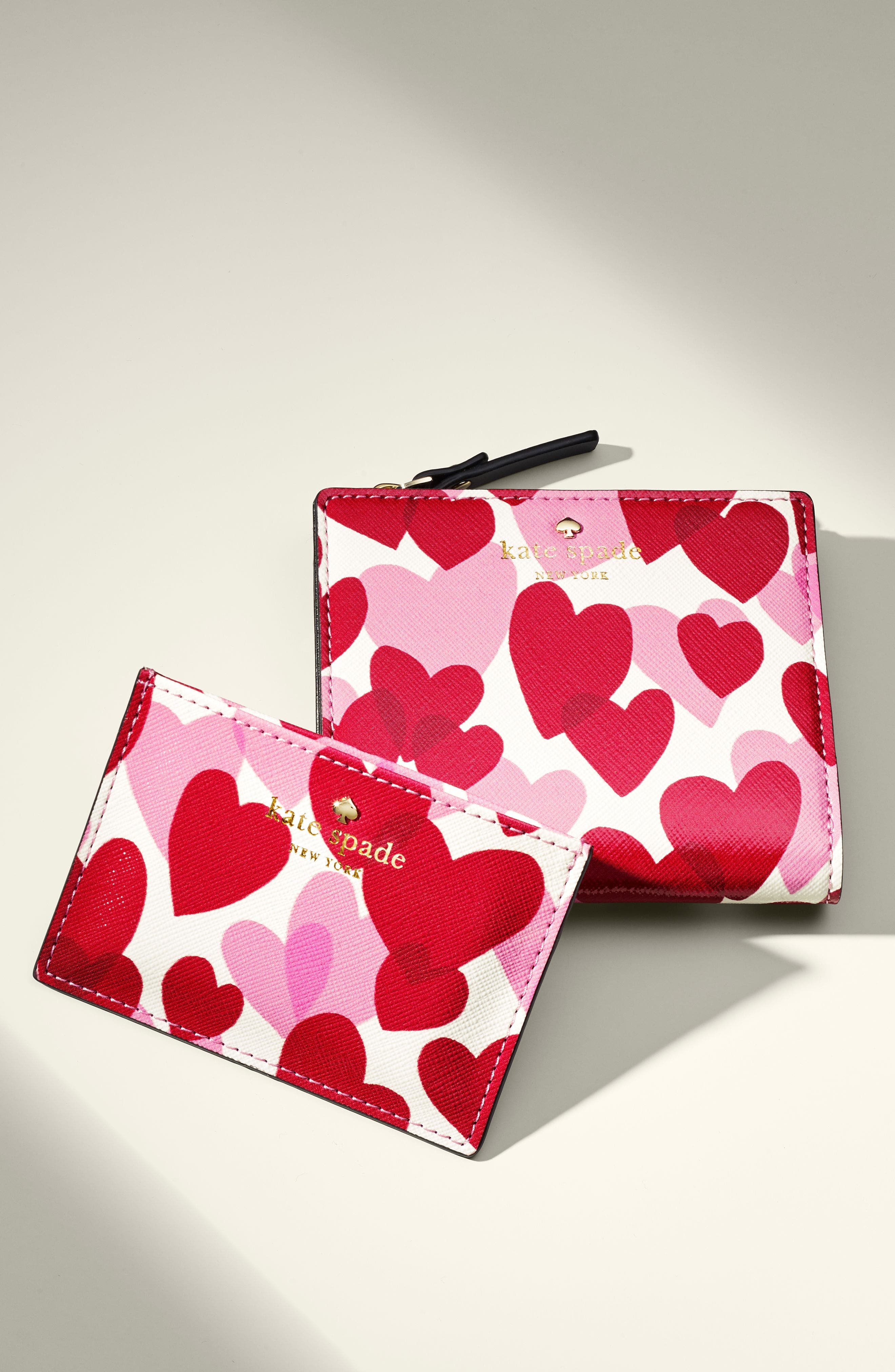Alternate Image 3  - kate spade new york yours truly faux leather card case