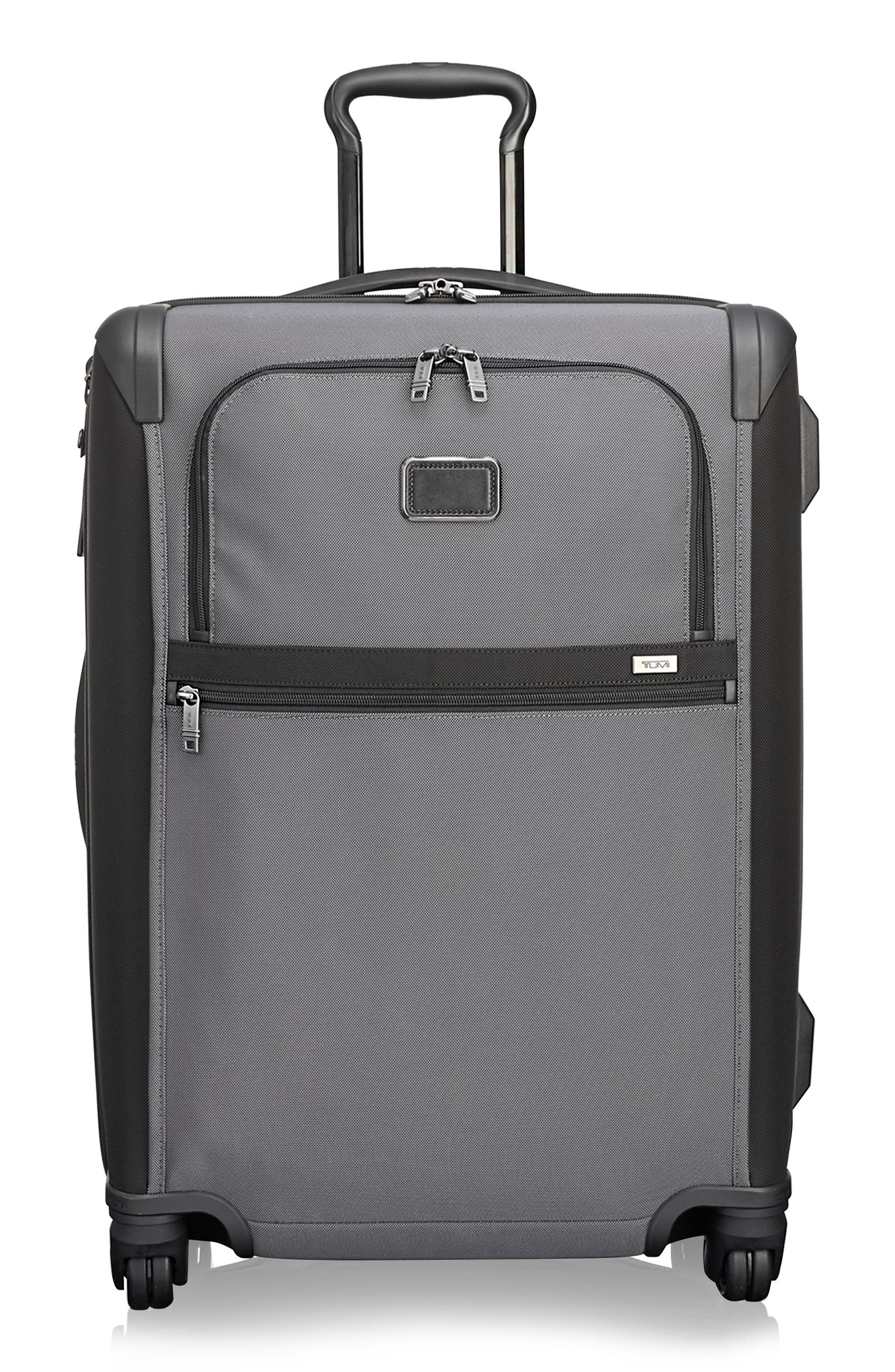 Alpha 2 26-Inch Short Trip Wheeled Packing Case,                             Main thumbnail 1, color,                             Pewter