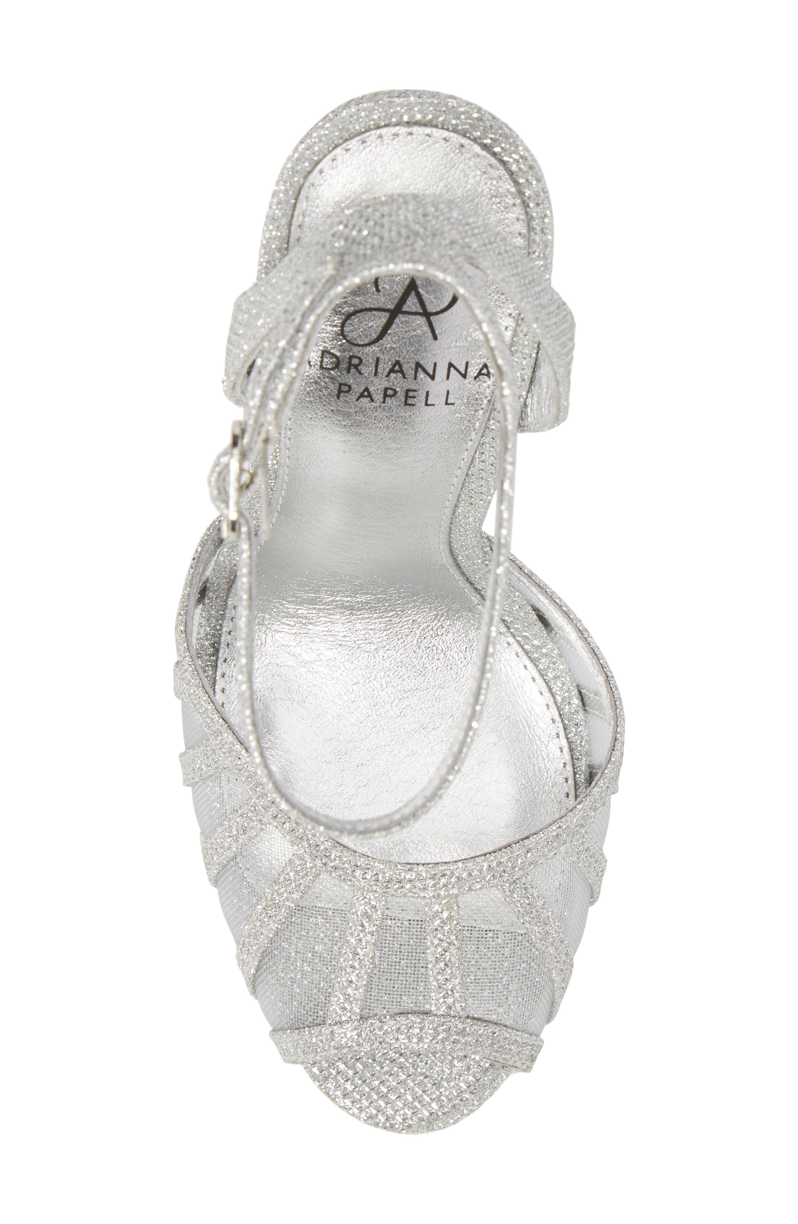 Alternate Image 5  - Adrianna Papell Saida Platform Sandal (Women)