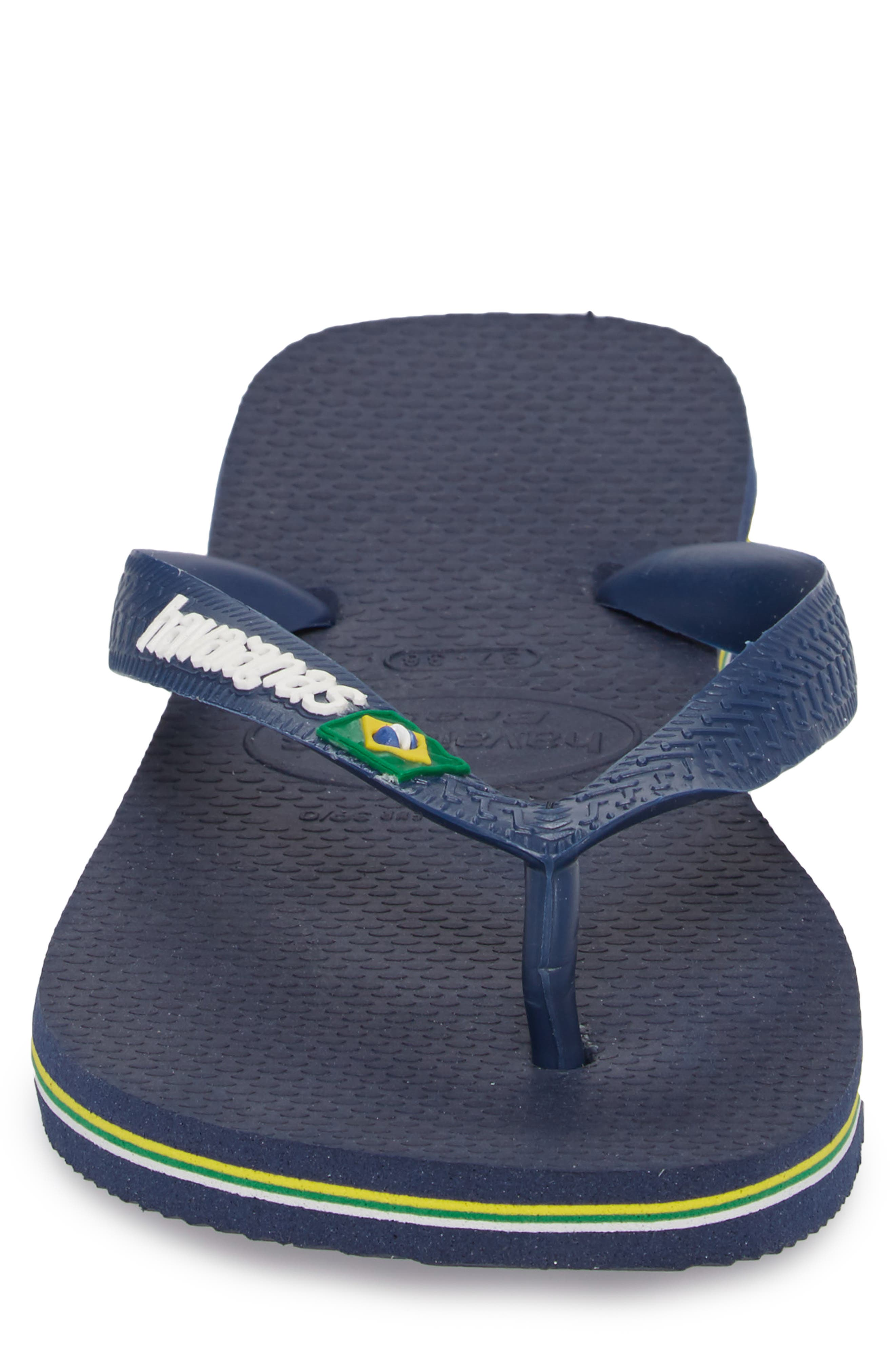 Alternate Image 4  - Havaianas Brazil Flip Flop (Men)