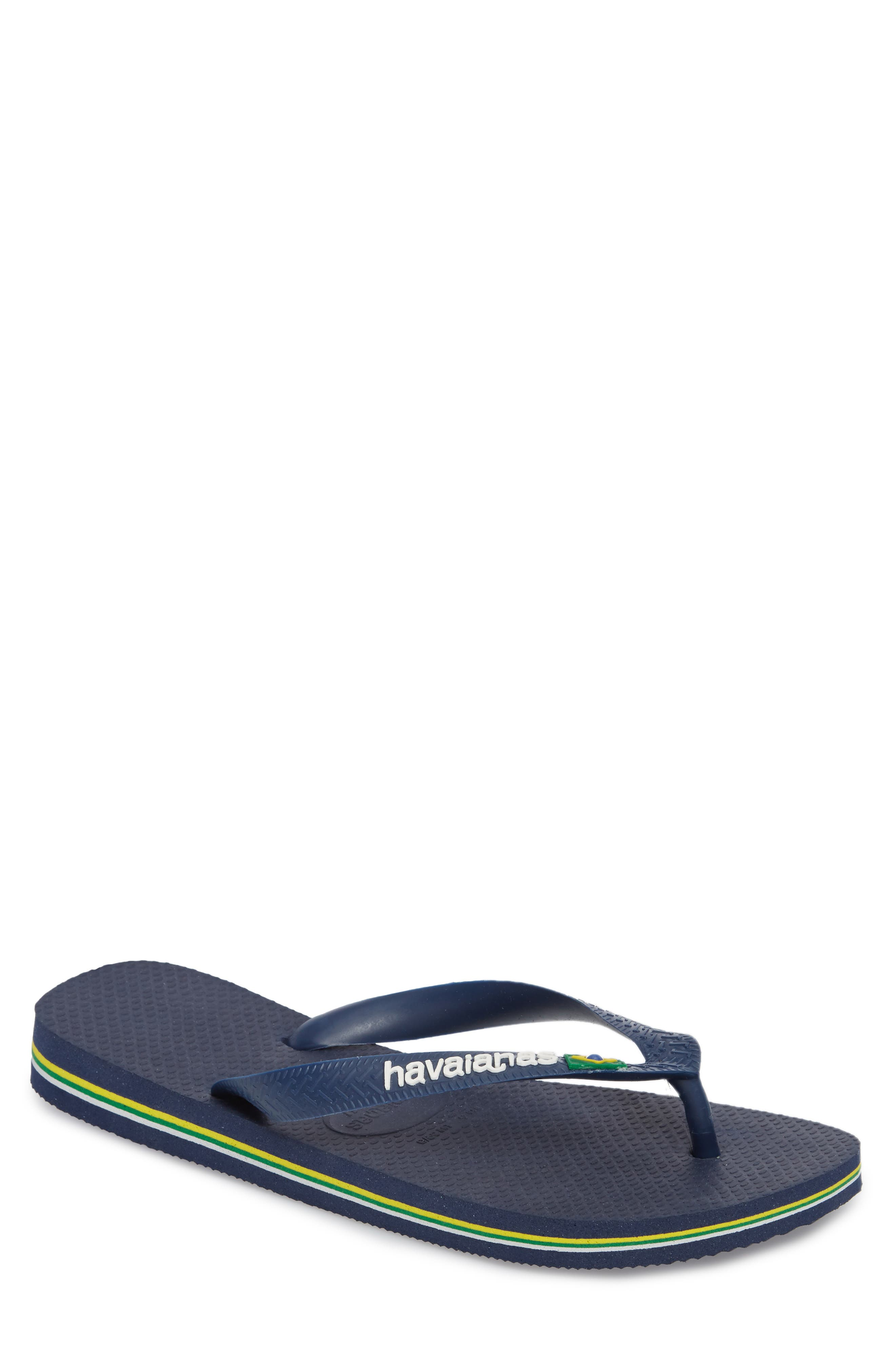 Alternate Image 1 Selected - Havaianas Brazil Flip Flop (Men)