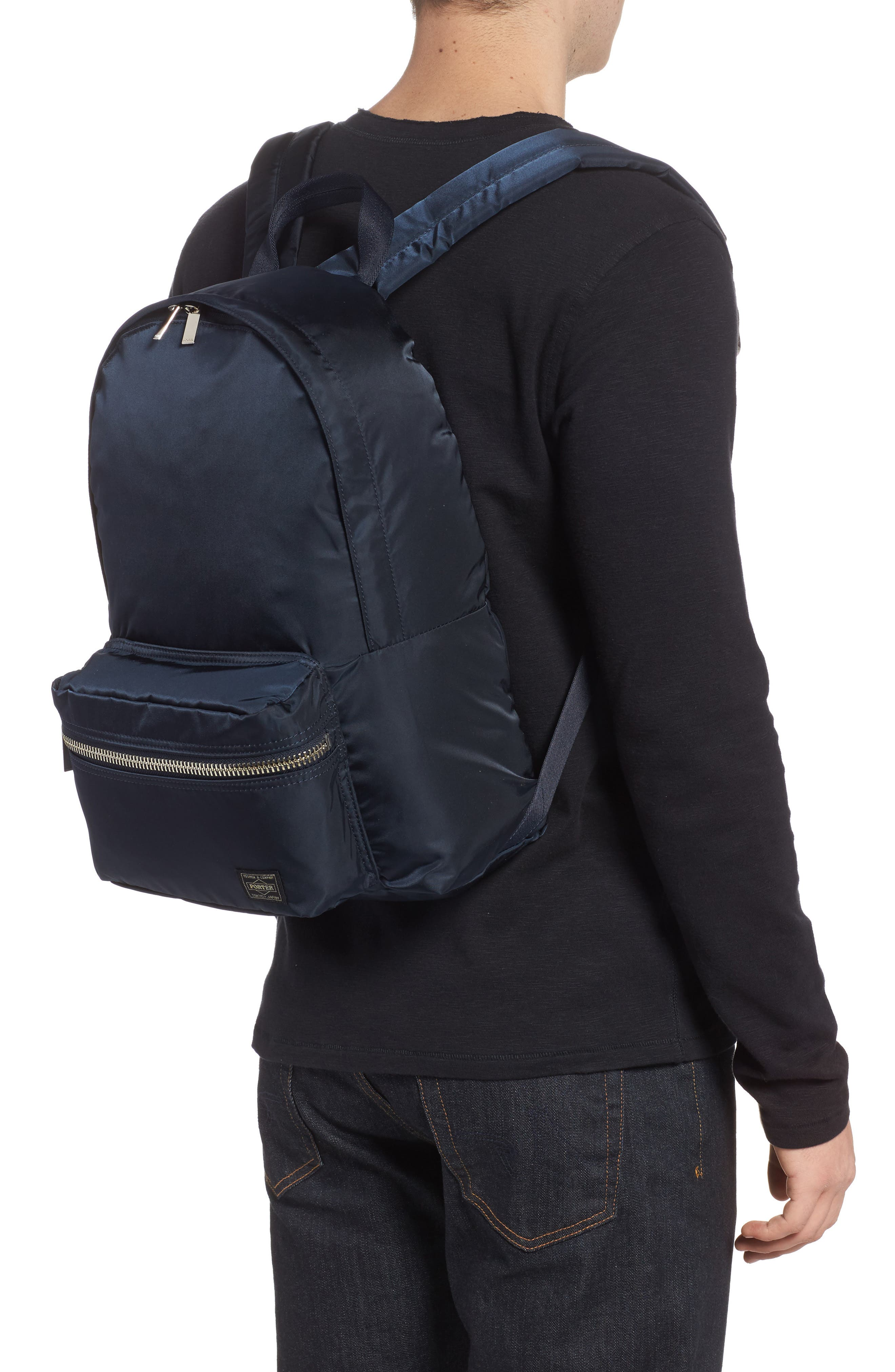Porter-Yoshida & Co. Daily Backpack,                             Alternate thumbnail 2, color,                             Navy