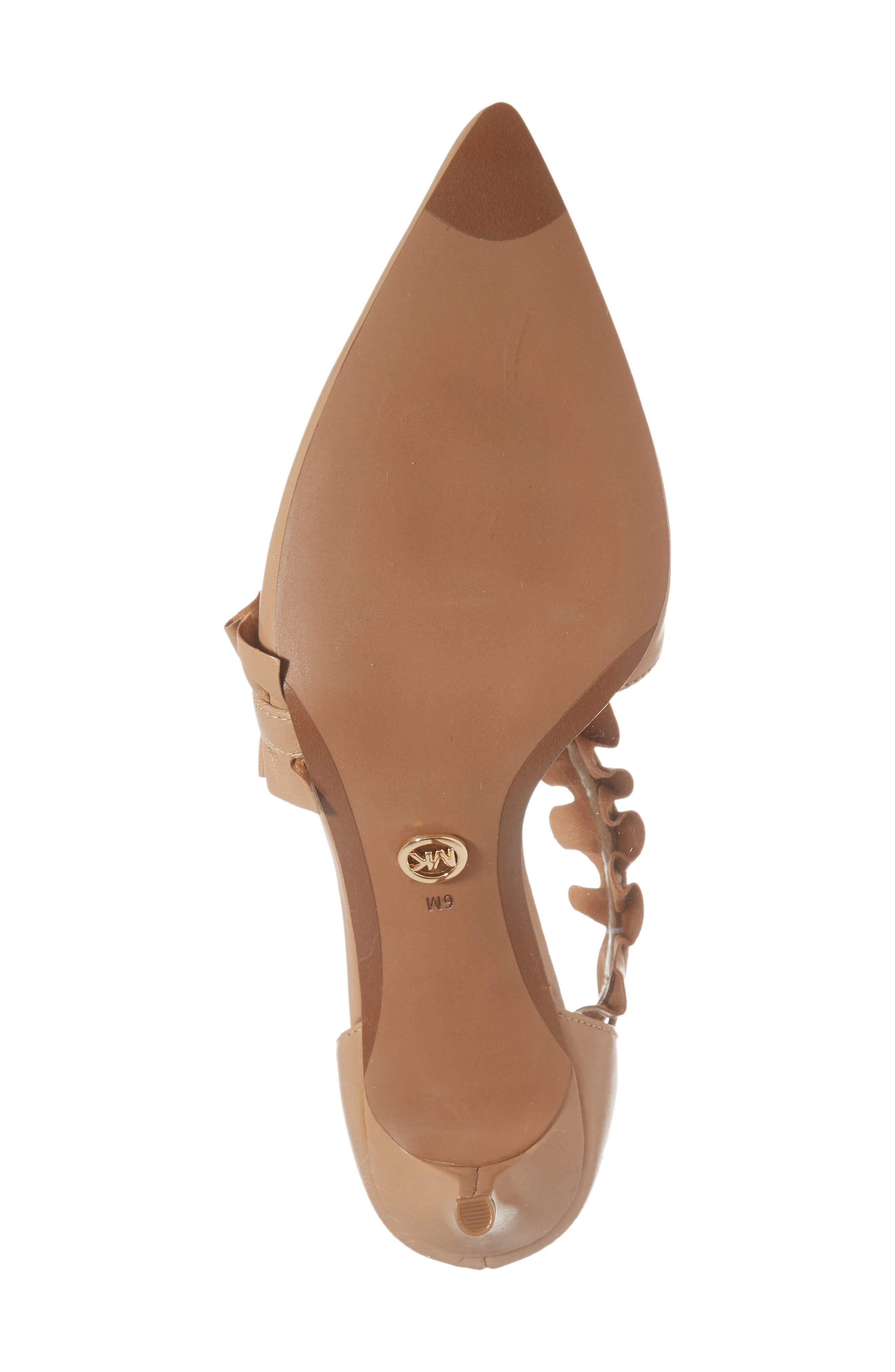 Alternate Image 6  - MICHAEL Michael Kors Bella Ruffle Pump (Women)