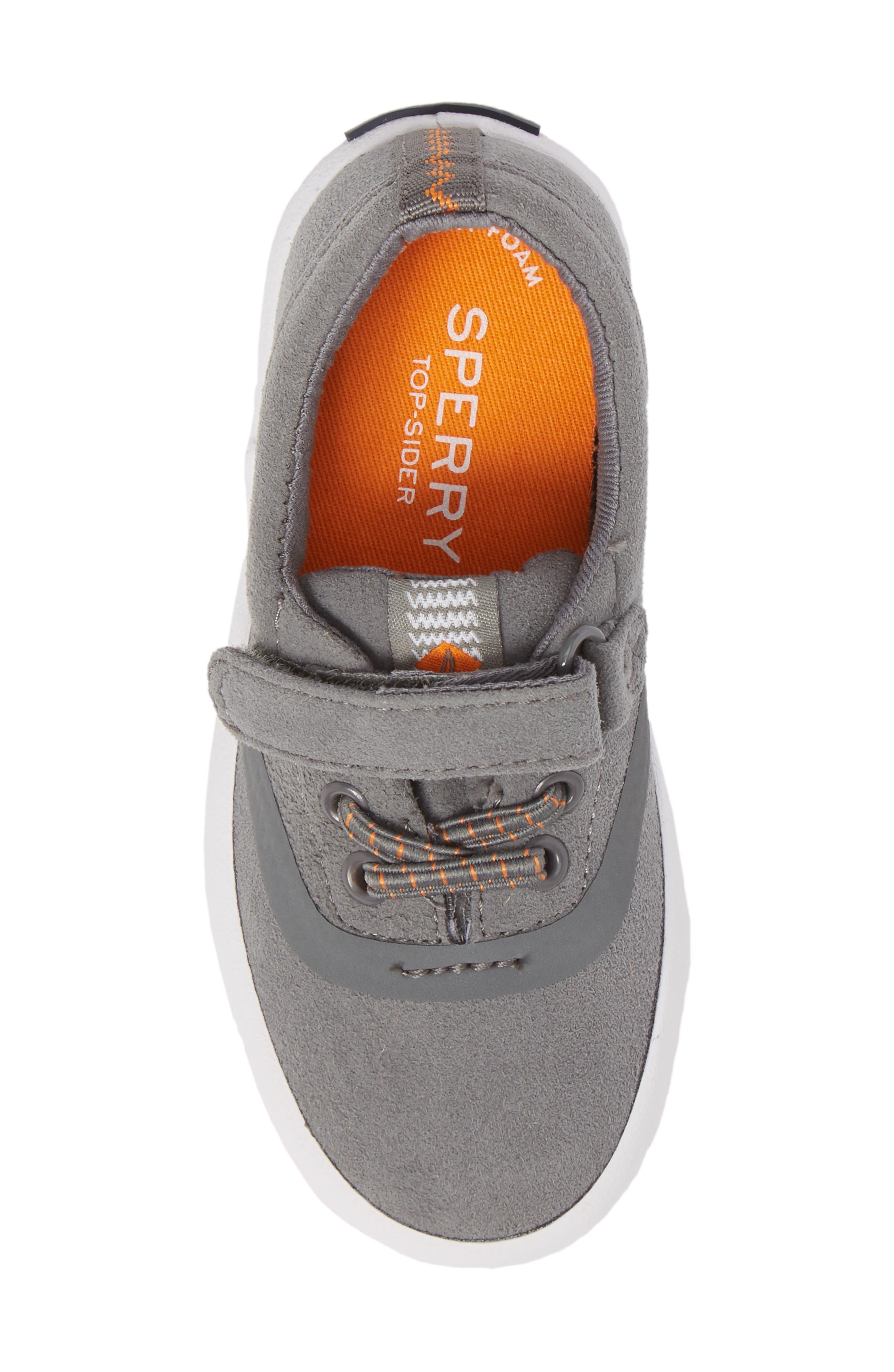 Alternate Image 5  - Sperry Kids Wahoo Junior Sneaker (Walker & Toddler)