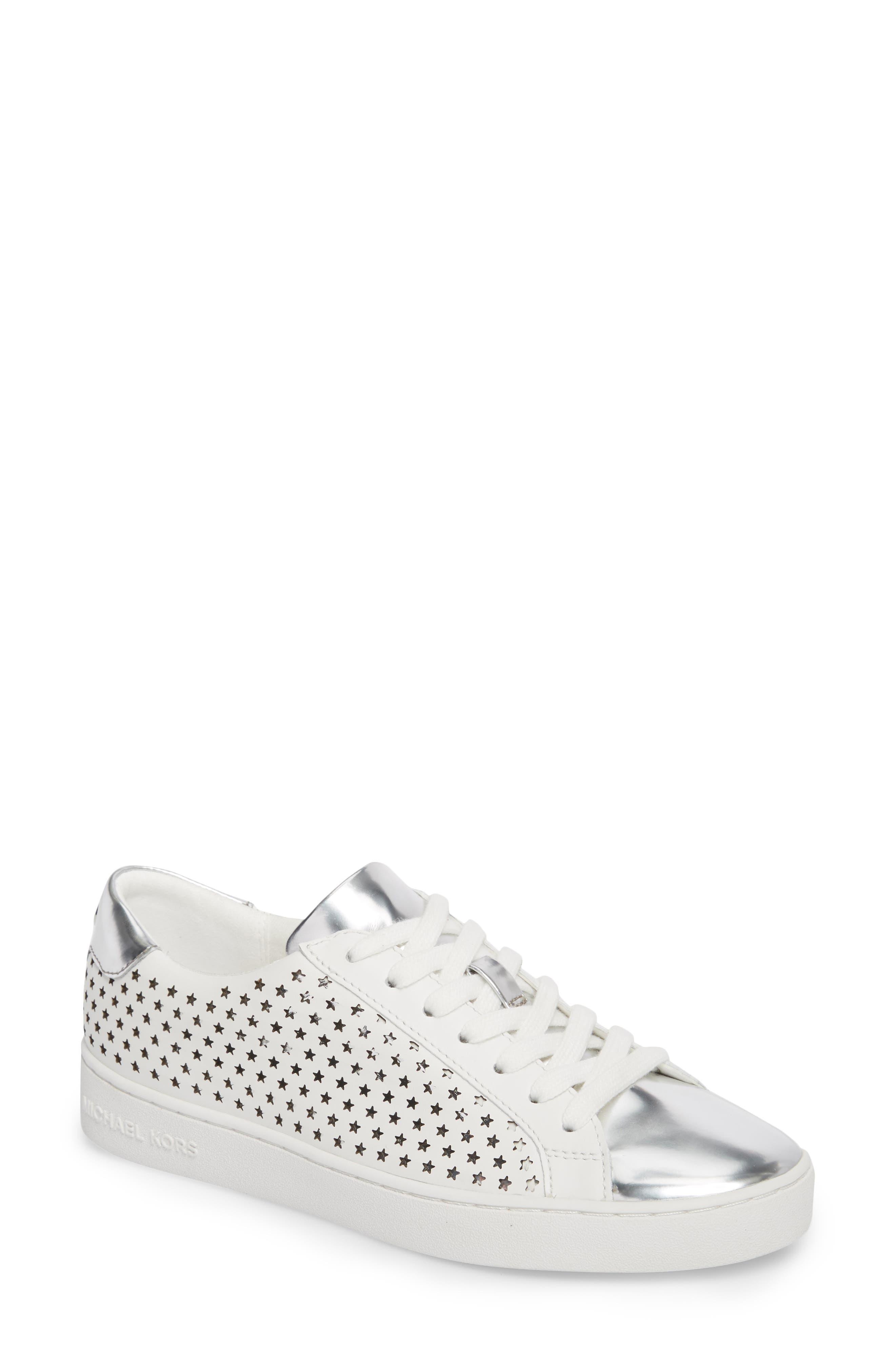 Irving Sneaker,                         Main,                         color, Optic White