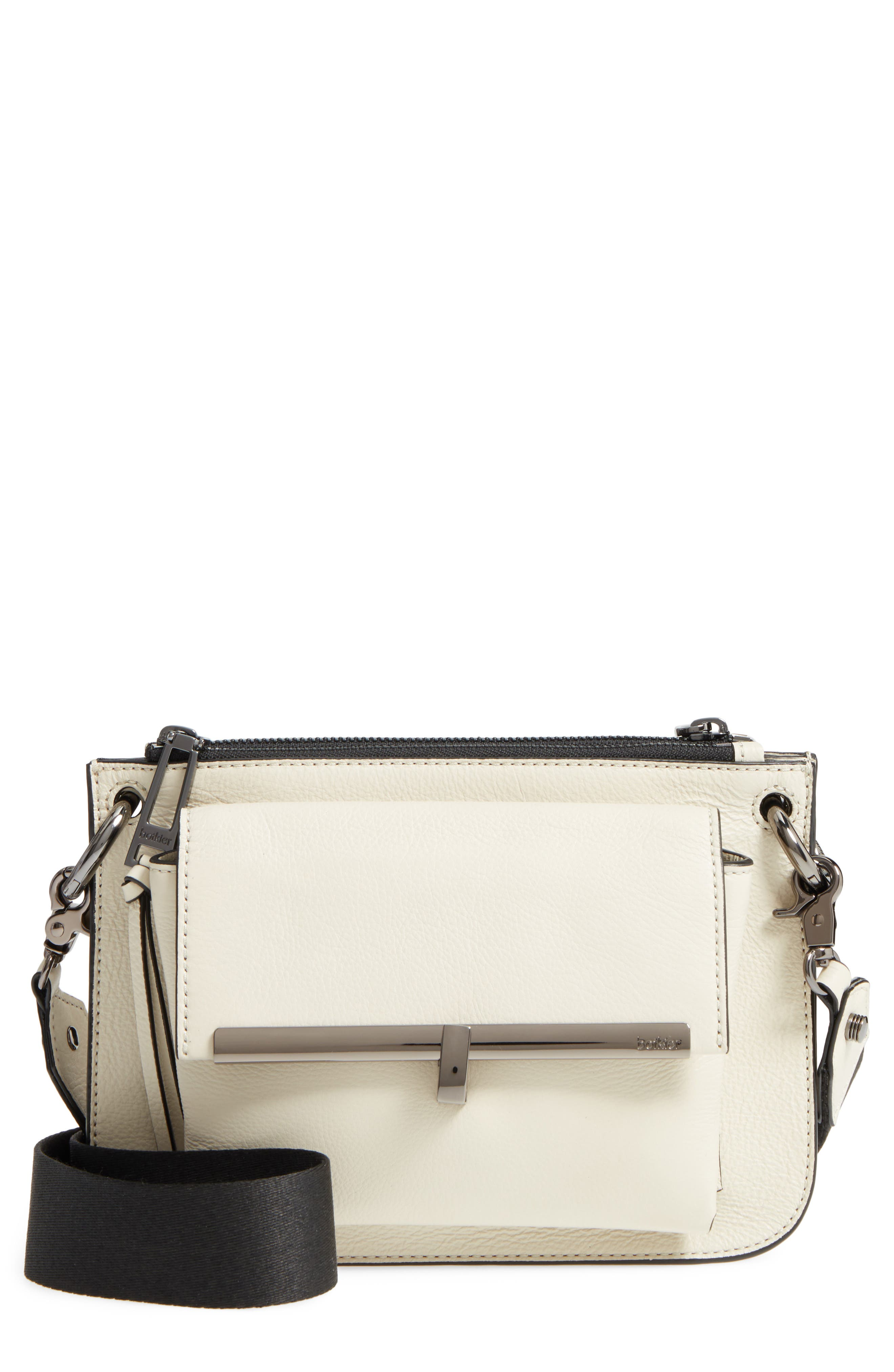 Botkier Bleeker Leather Double Shoulder Bag