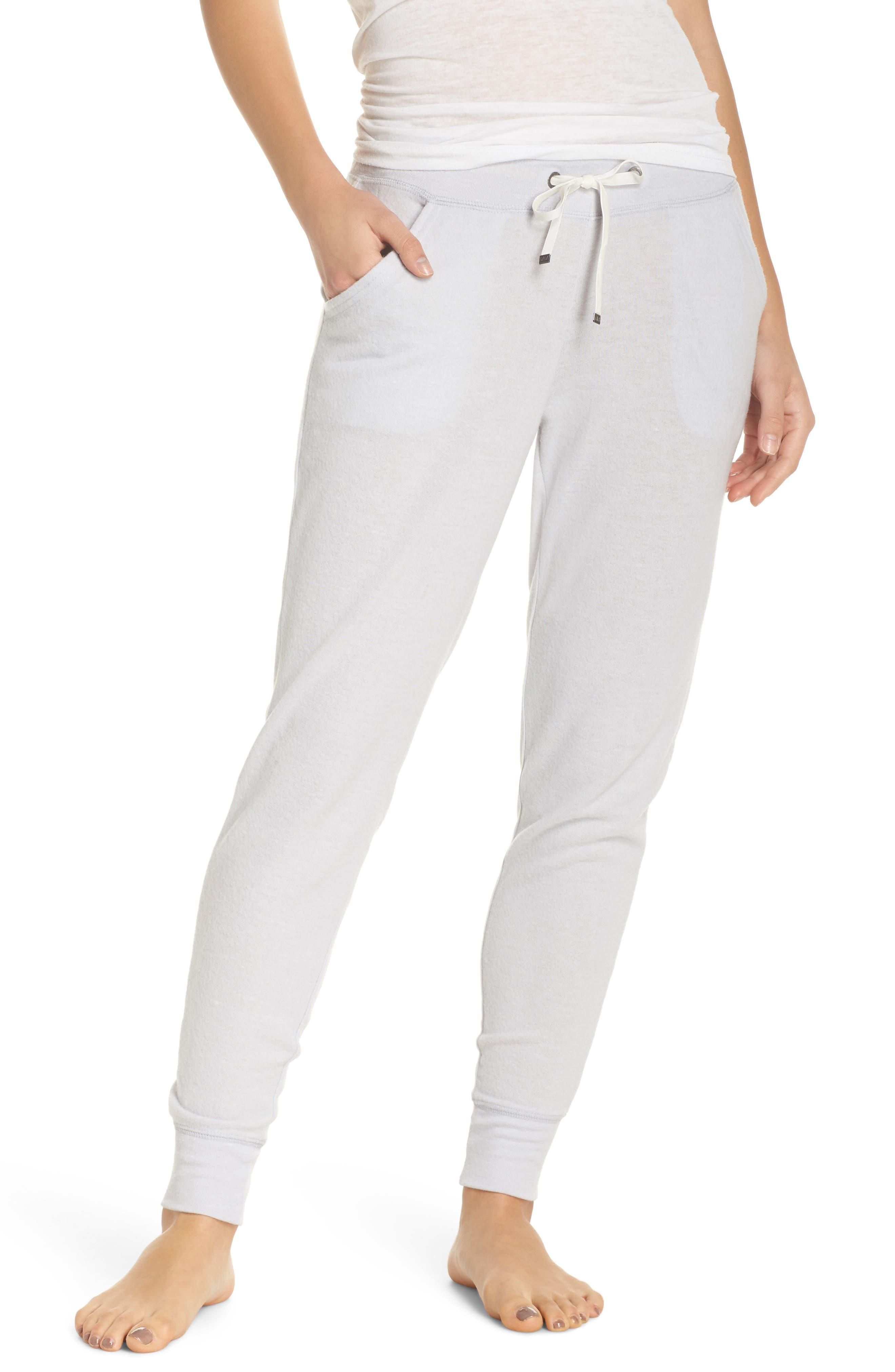 Winter Dreams Lounge Jogger Pants,                         Main,                         color, Grey Micro