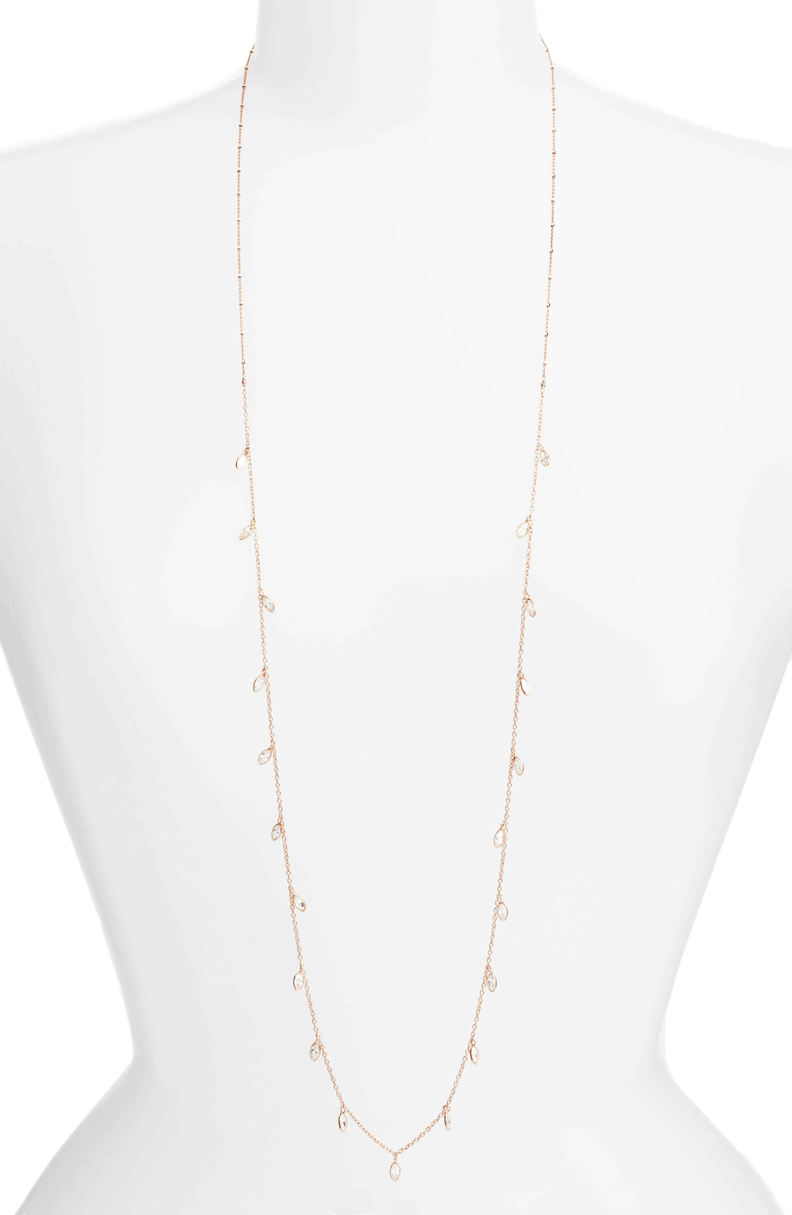 Alternate Image 1 Selected - Chan Luu Crystal Long Necklace