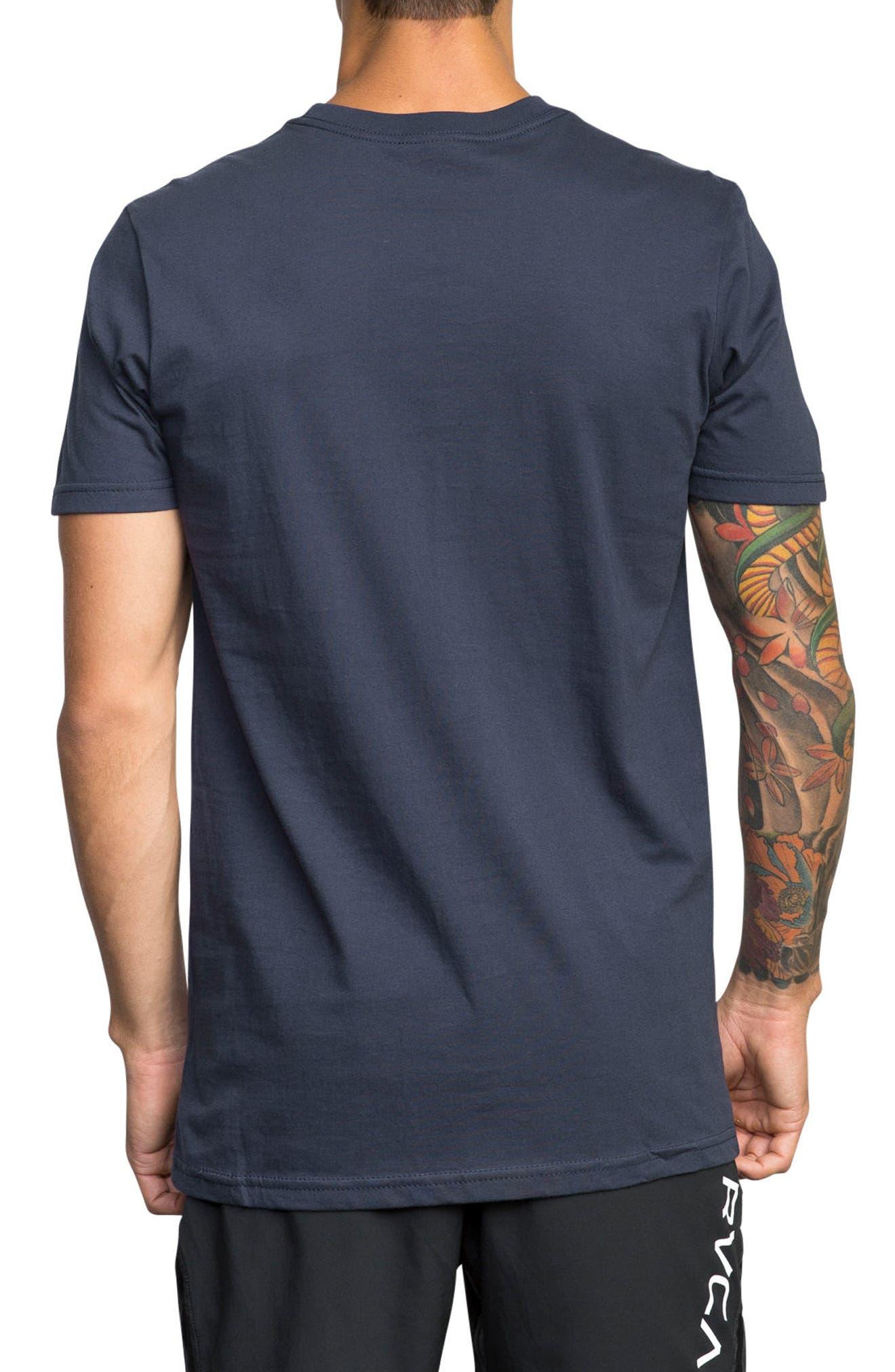 Balance Reflect T-Shirt,                             Alternate thumbnail 2, color,                             Classic Indigo