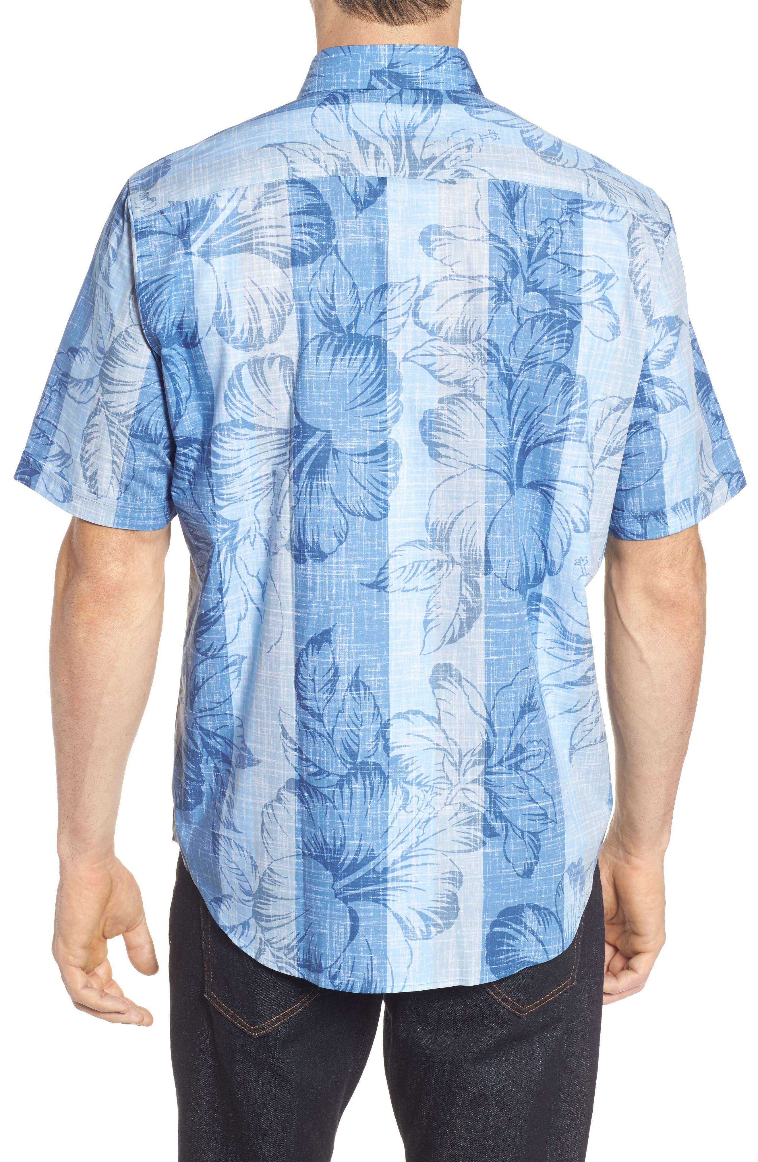 Alternate Image 2  - Bugatchi Classic Fit Floral Sport Shirt