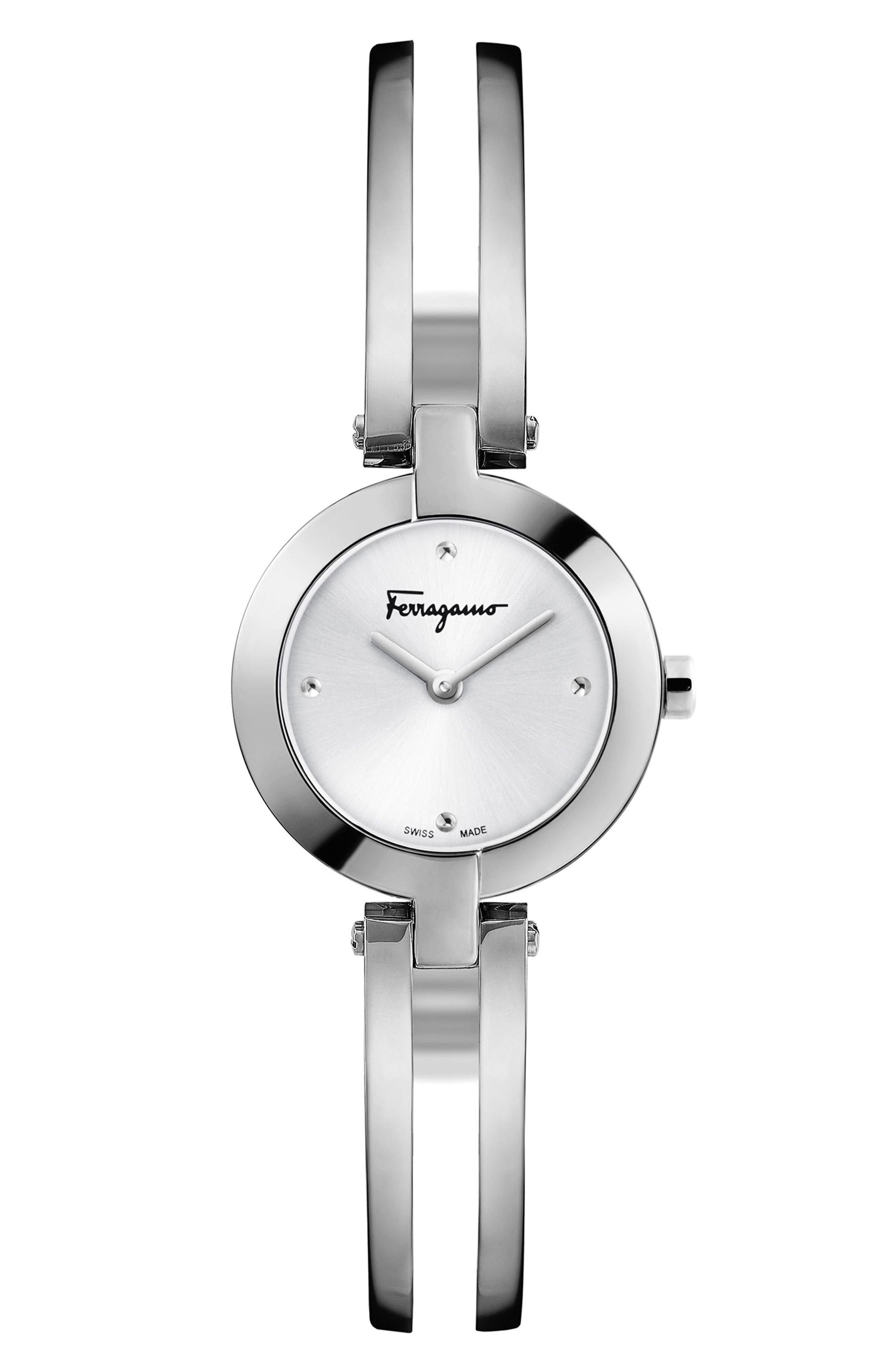 Main Image - Salvatore Ferragamo Miniature Bracelet Watch, 26mm