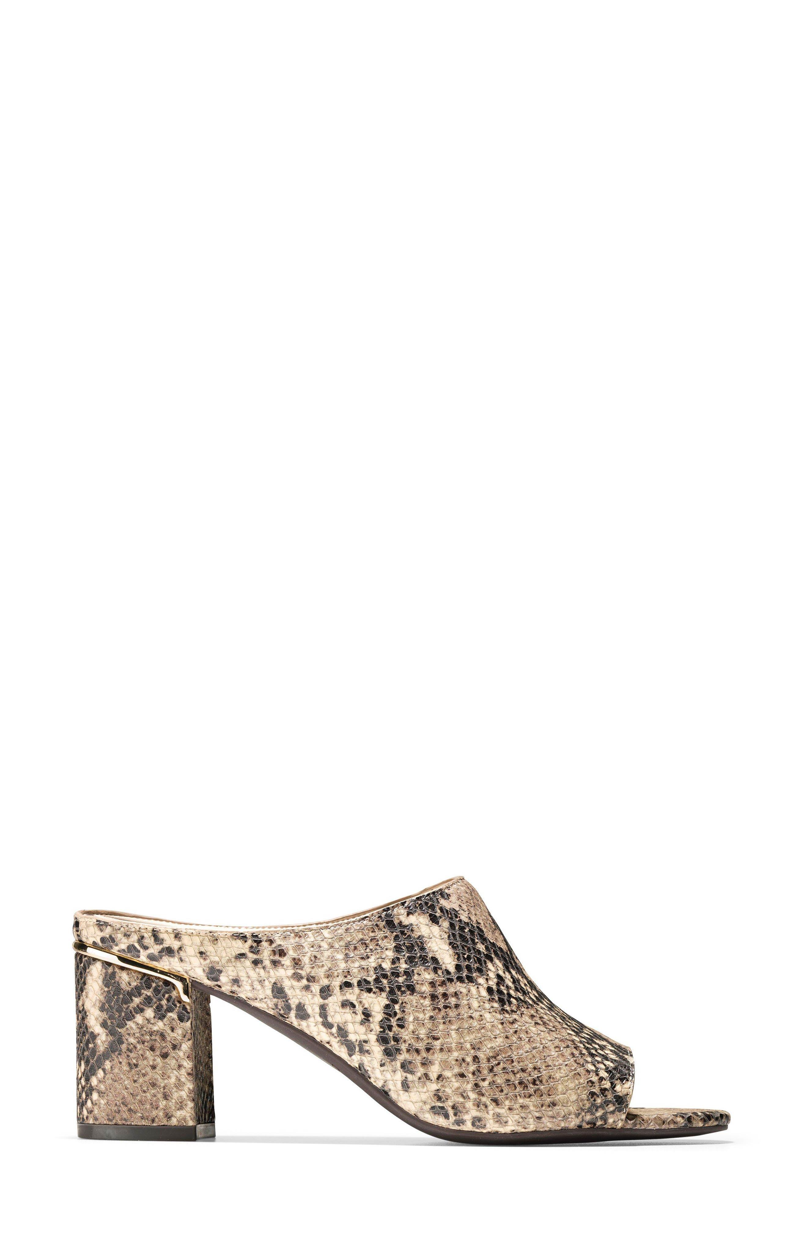 Laree Sandal,                             Alternate thumbnail 4, color,                             Roccia Print Leather