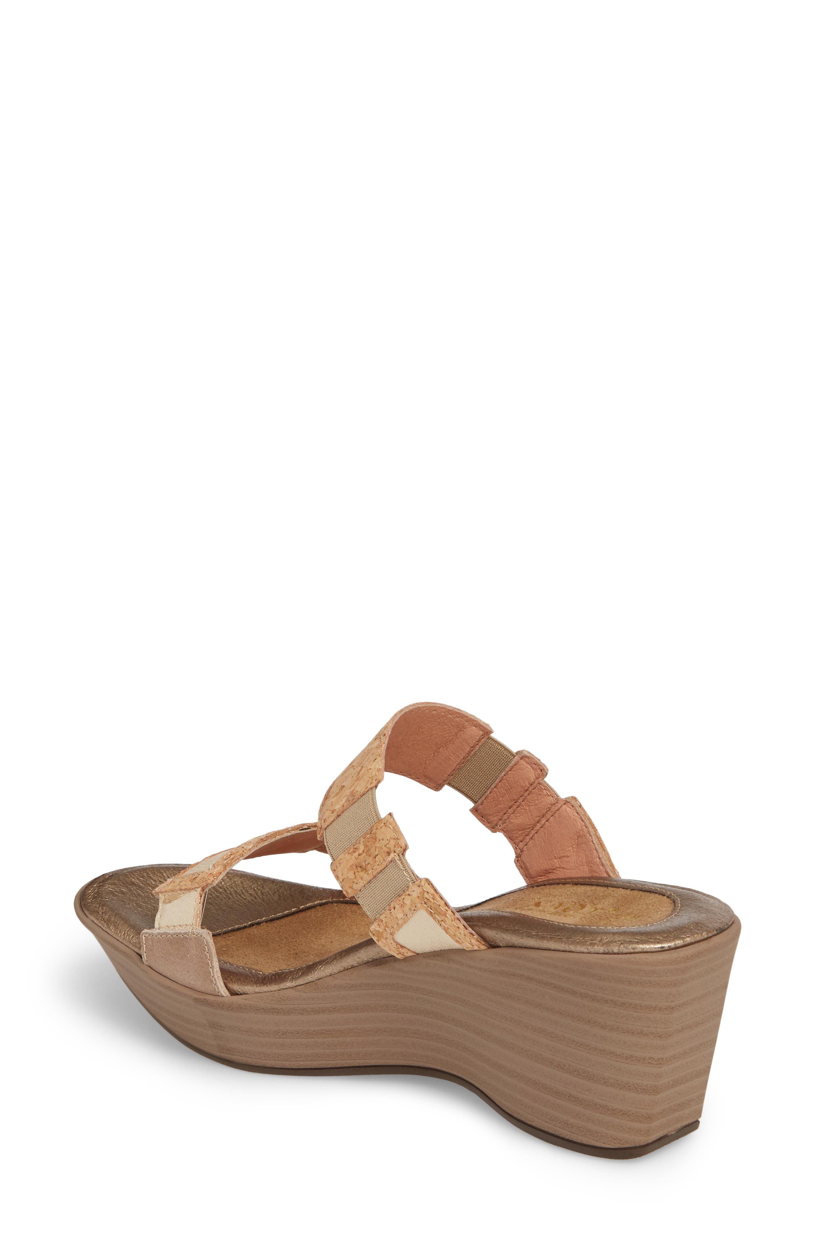 'Treasure' Sandal,                             Alternate thumbnail 2, color,                             Cork Leather