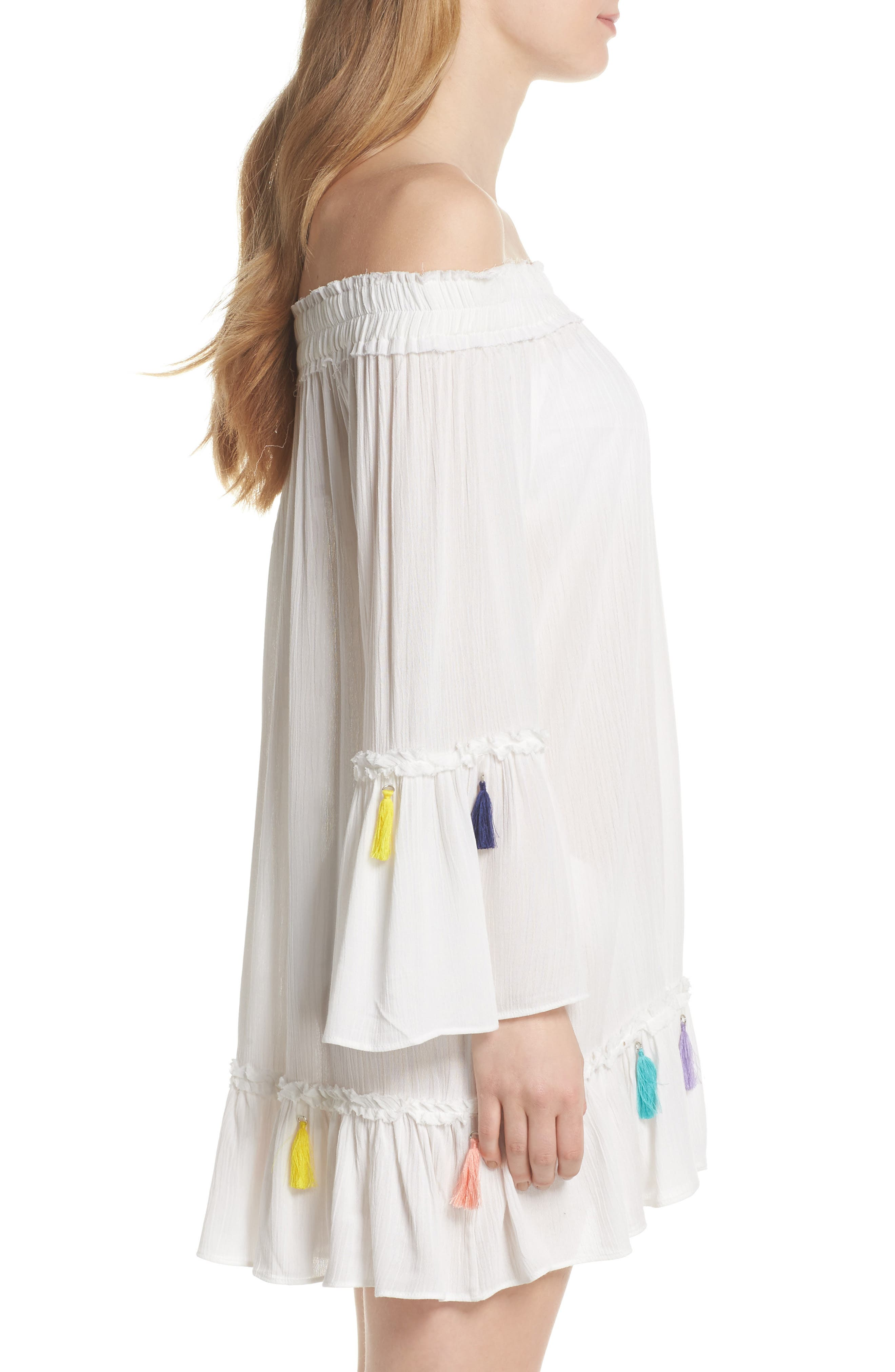 Alternate Image 3  - Surf Gypsy Tassel Cover-Up