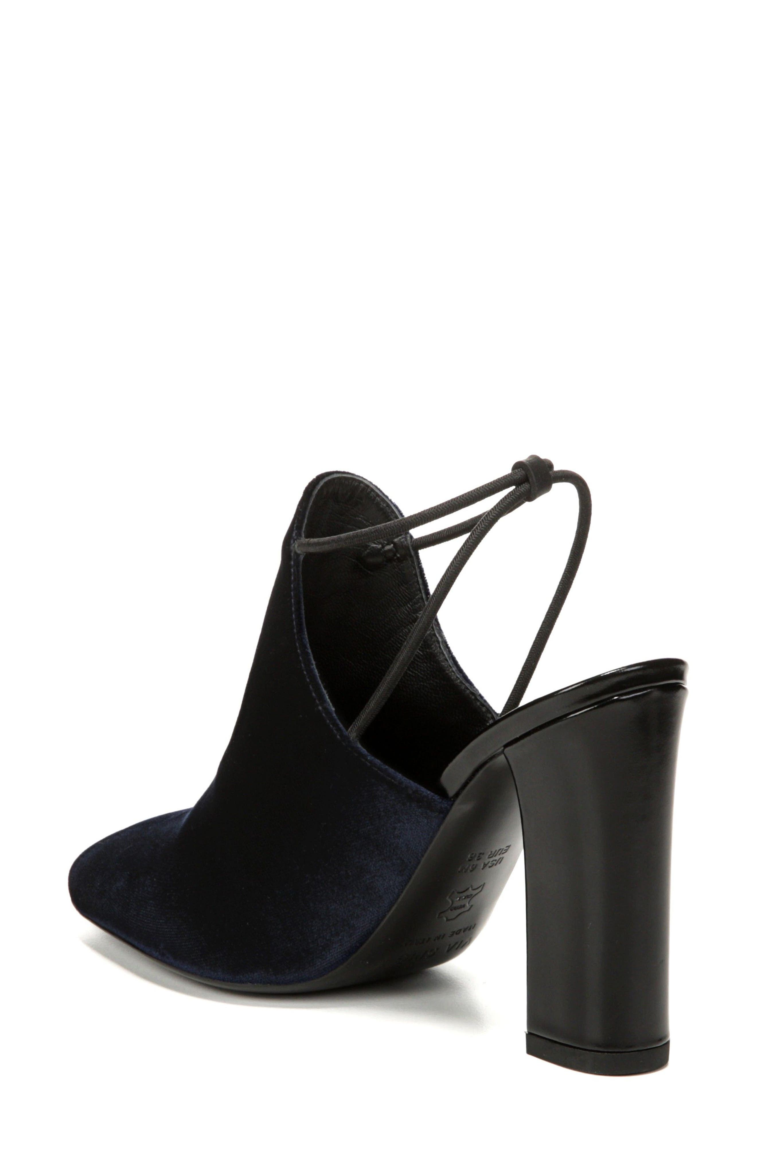 Arina Slingback Pump,                             Alternate thumbnail 2, color,                             Midnight Fabric