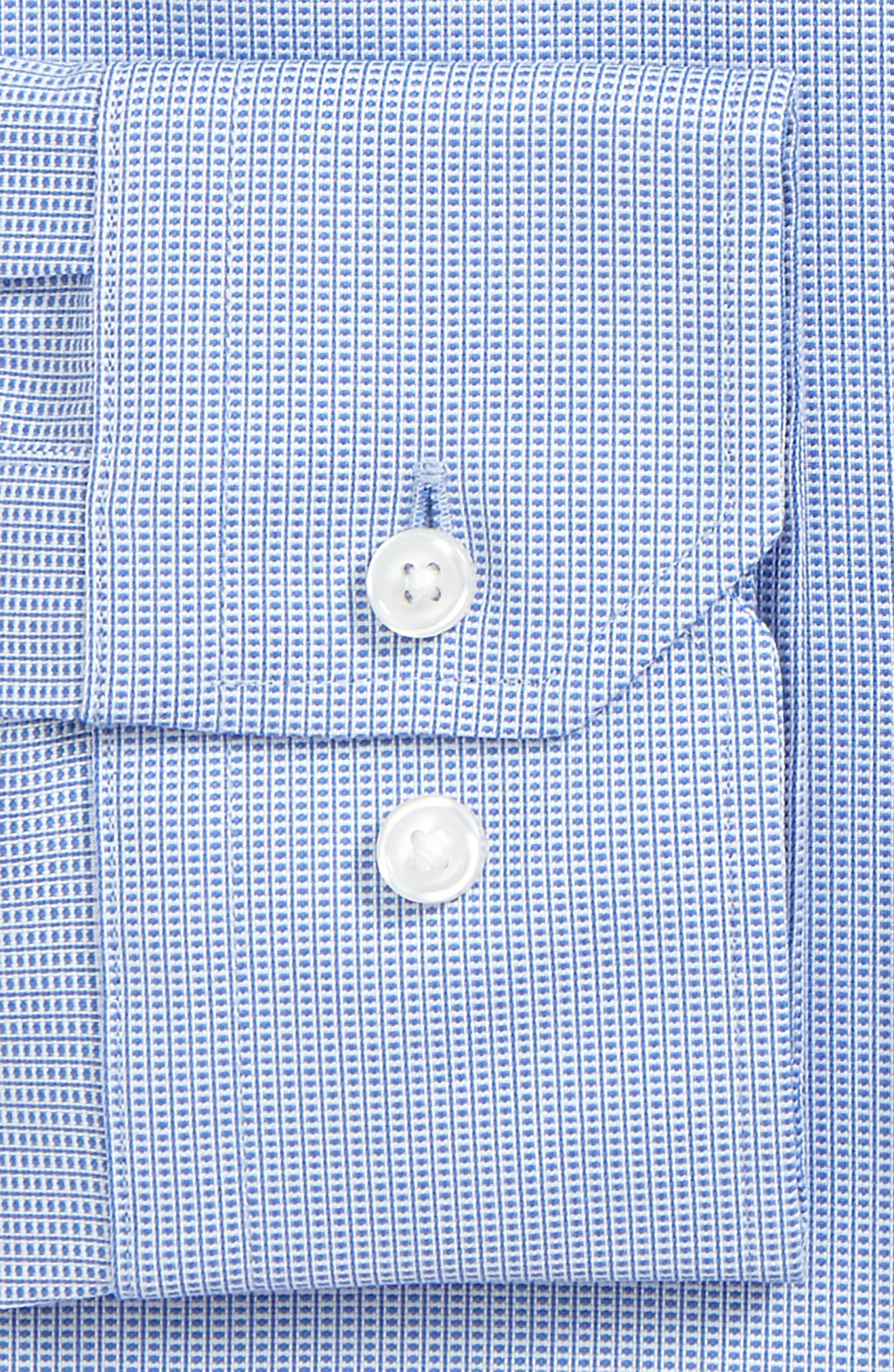 Alternate Image 2  - Calibrate Trim Fit Non-Iron Stretch Dress Shirt