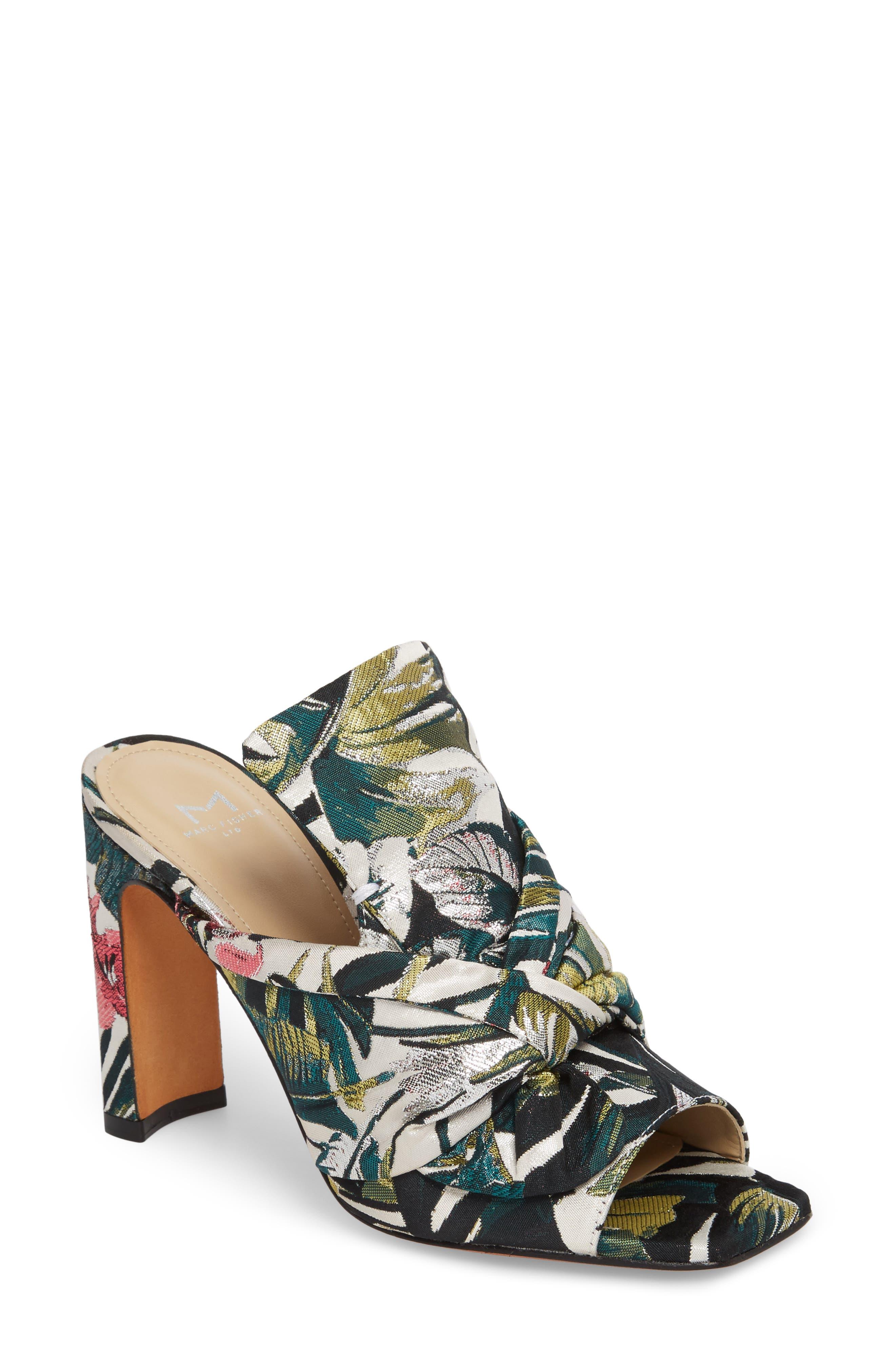 Hogan Slide Sandal,                             Main thumbnail 1, color,                             White Leather