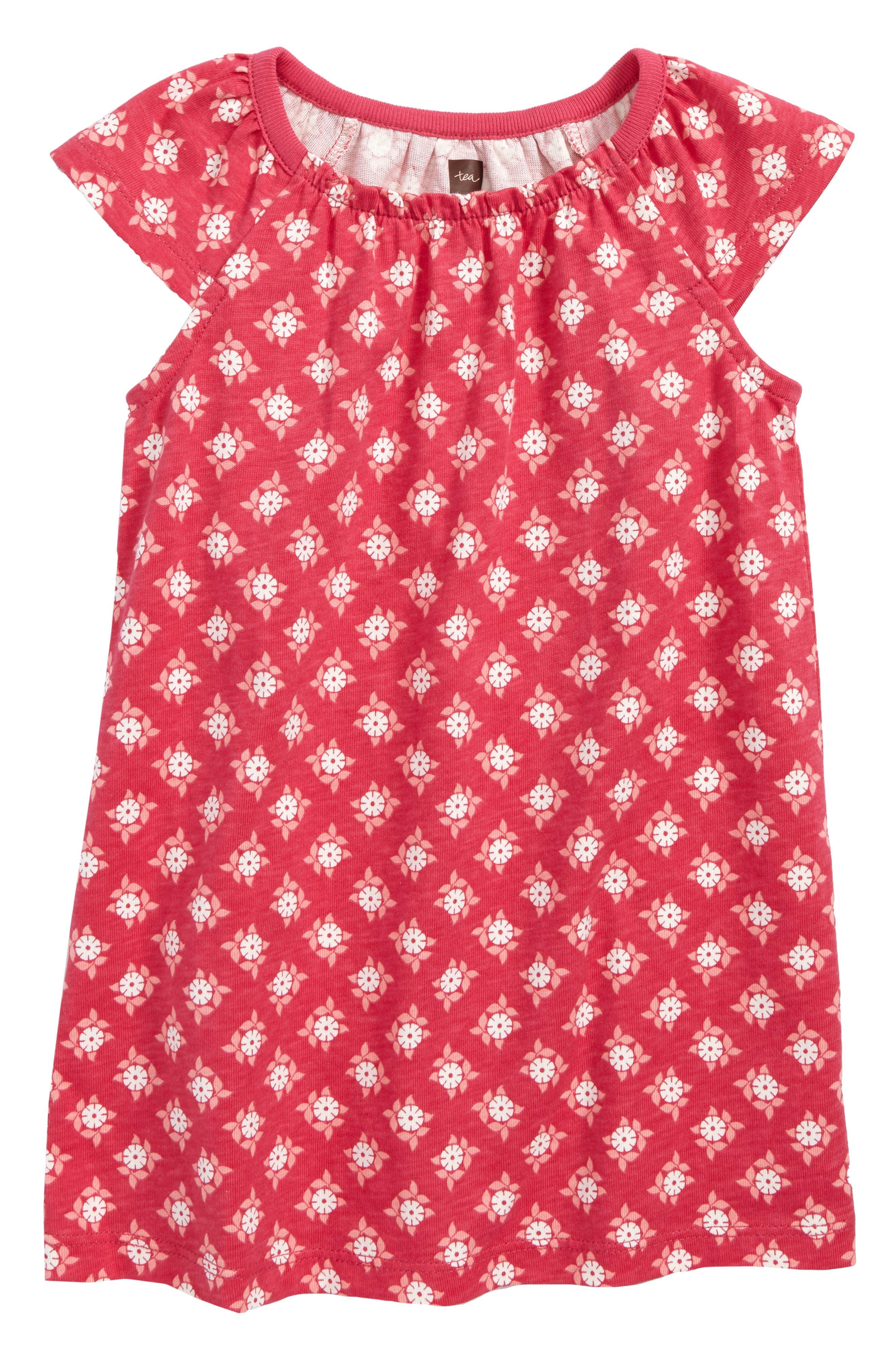 Sunburst Dress,                             Main thumbnail 1, color,                             Azalea