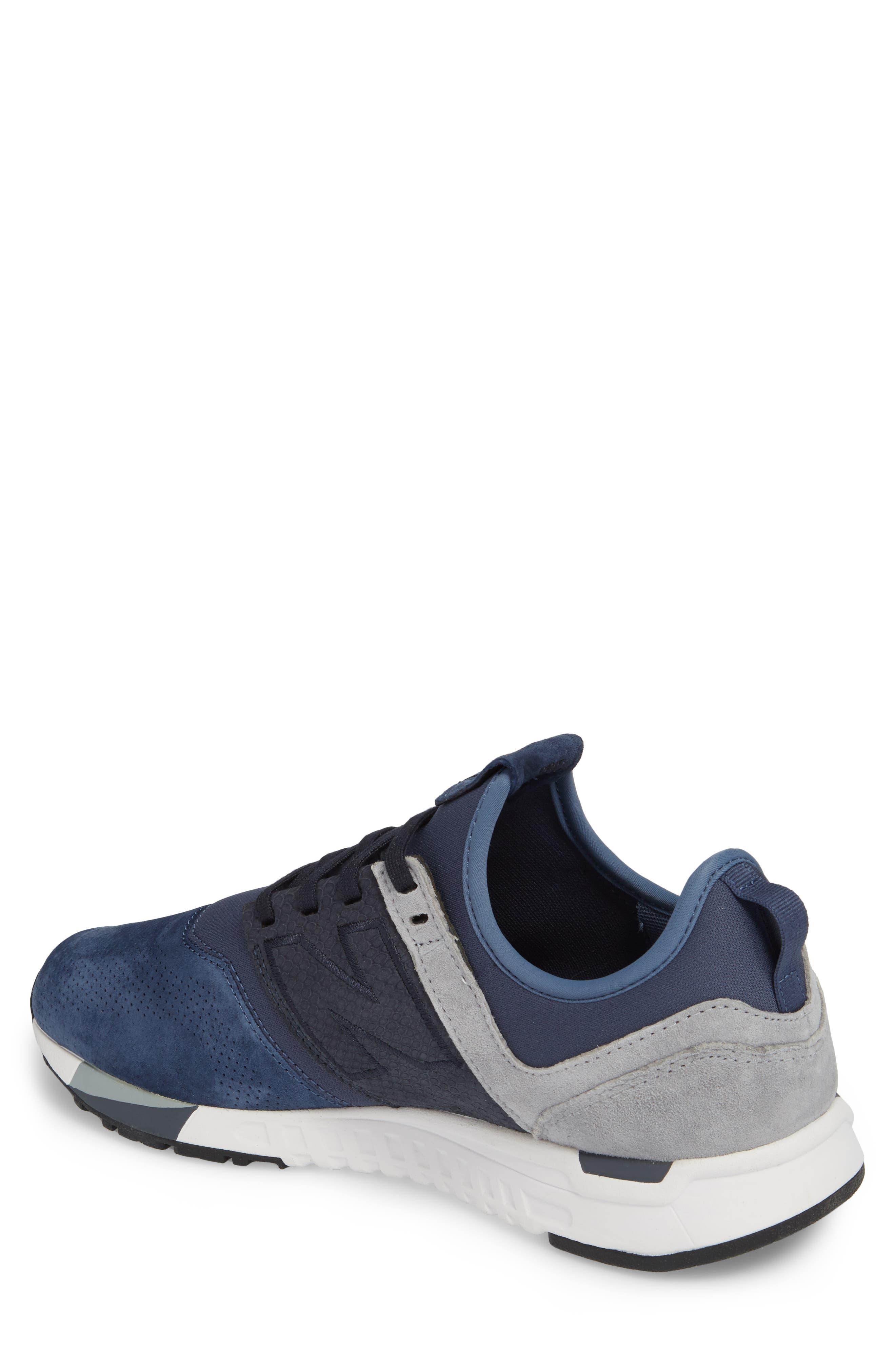 247 Luxe Sneaker,                             Alternate thumbnail 2, color,                             Blue
