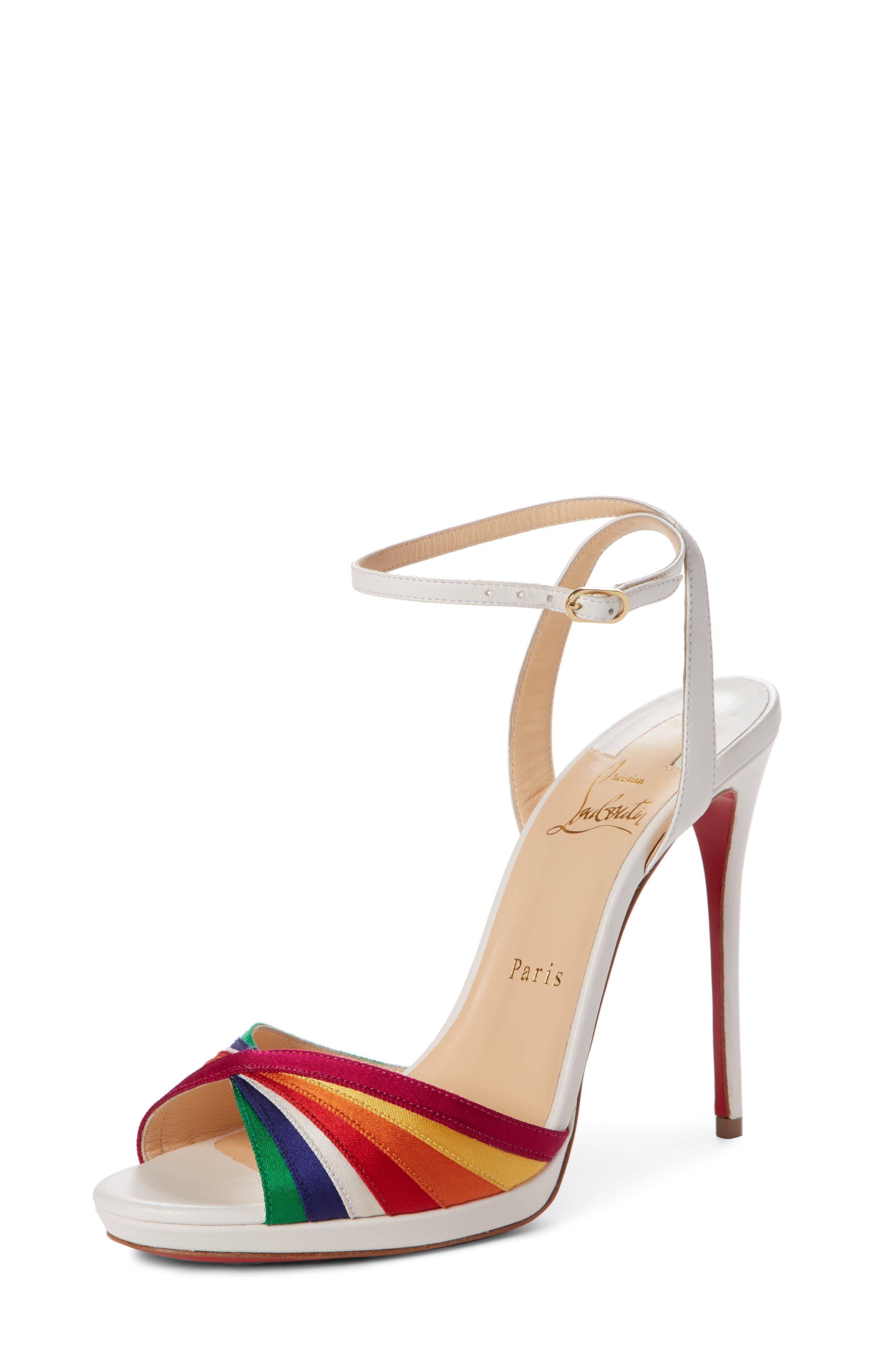 Naseeba Sandal,                         Main,                         color, Latte/ Multicolor