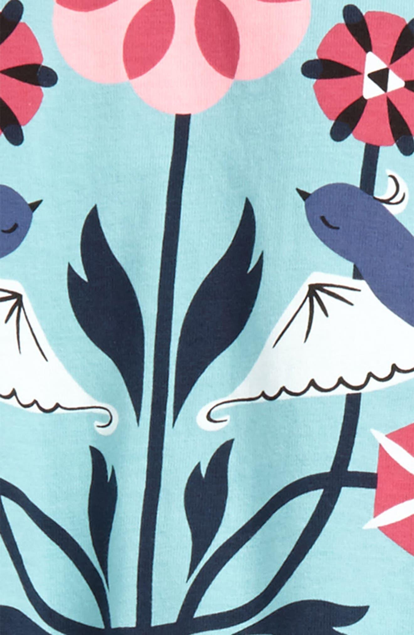 Lovebirds Tee & Pants Set,                             Alternate thumbnail 2, color,                             Mar