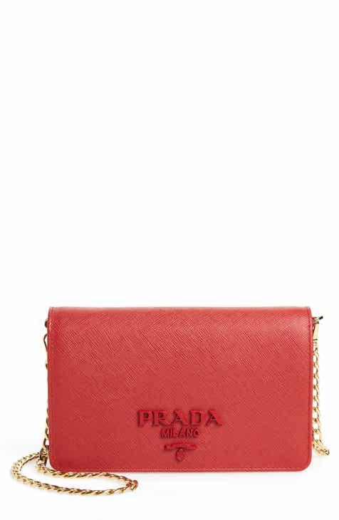 9576bc18d1f6 Prada Small Monochrome Crossbody Bag. $1,490.00. Product Image