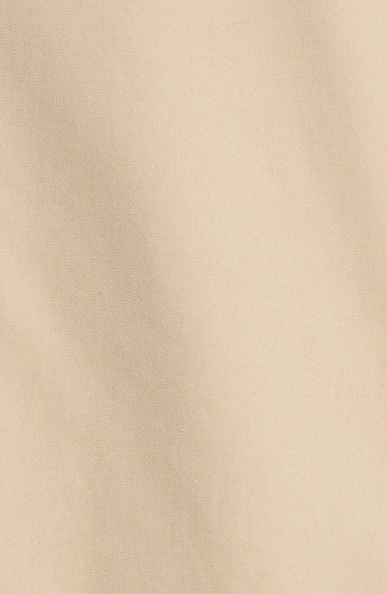Hollins Reversible Topcoat,                             Alternate thumbnail 6, color,                             Honey