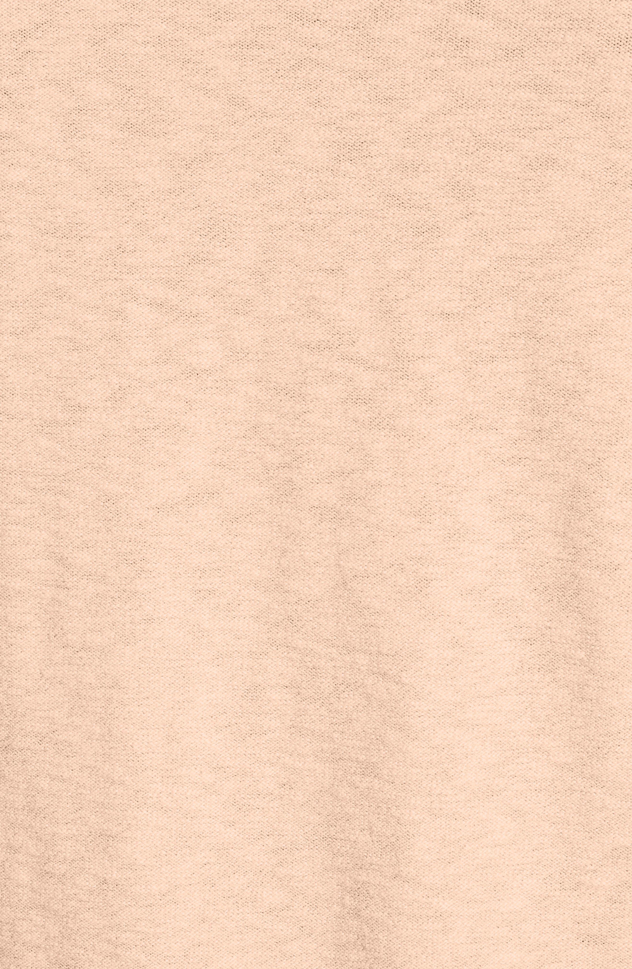 Garment Dyed Cotton Blend Sweatshirt,                             Alternate thumbnail 5, color,                             Coral