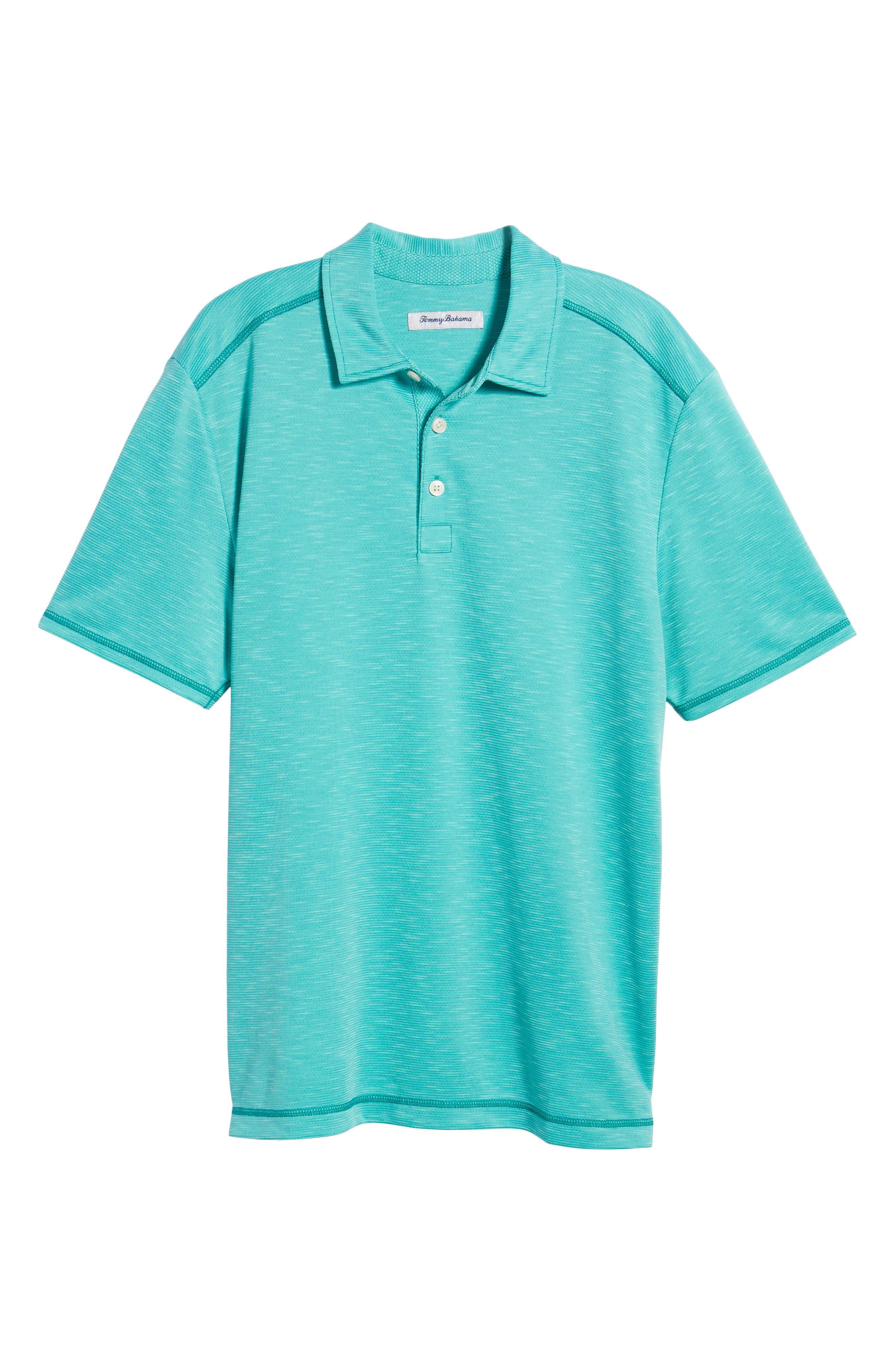 New Double Tempo Spectator Jersey Polo,                             Alternate thumbnail 6, color,                             Mint Mojito