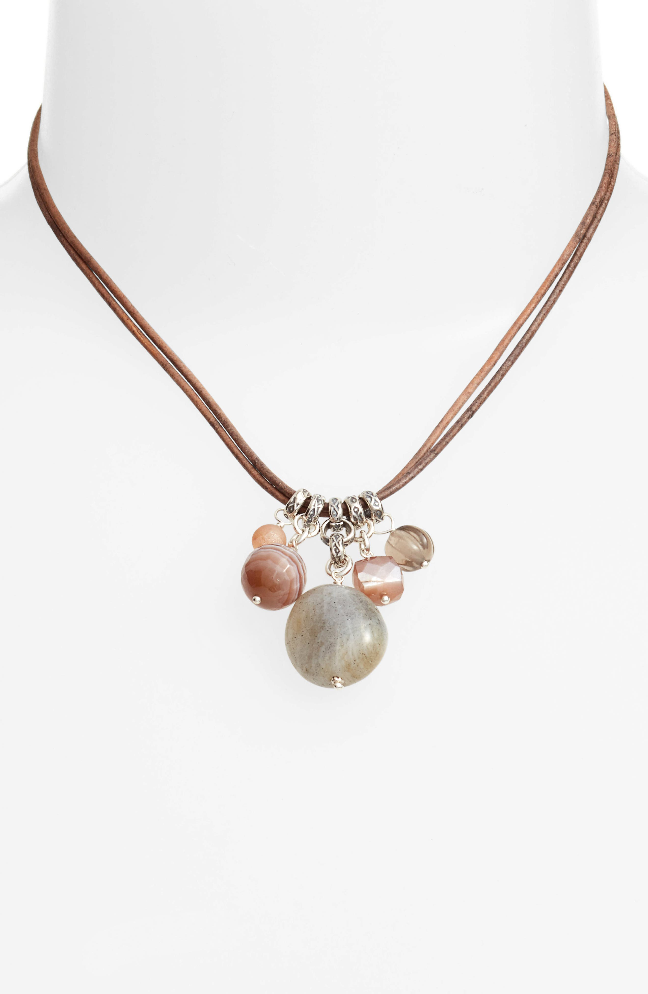 Alternate Image 2  - Chan Luu Multistone Short Necklace