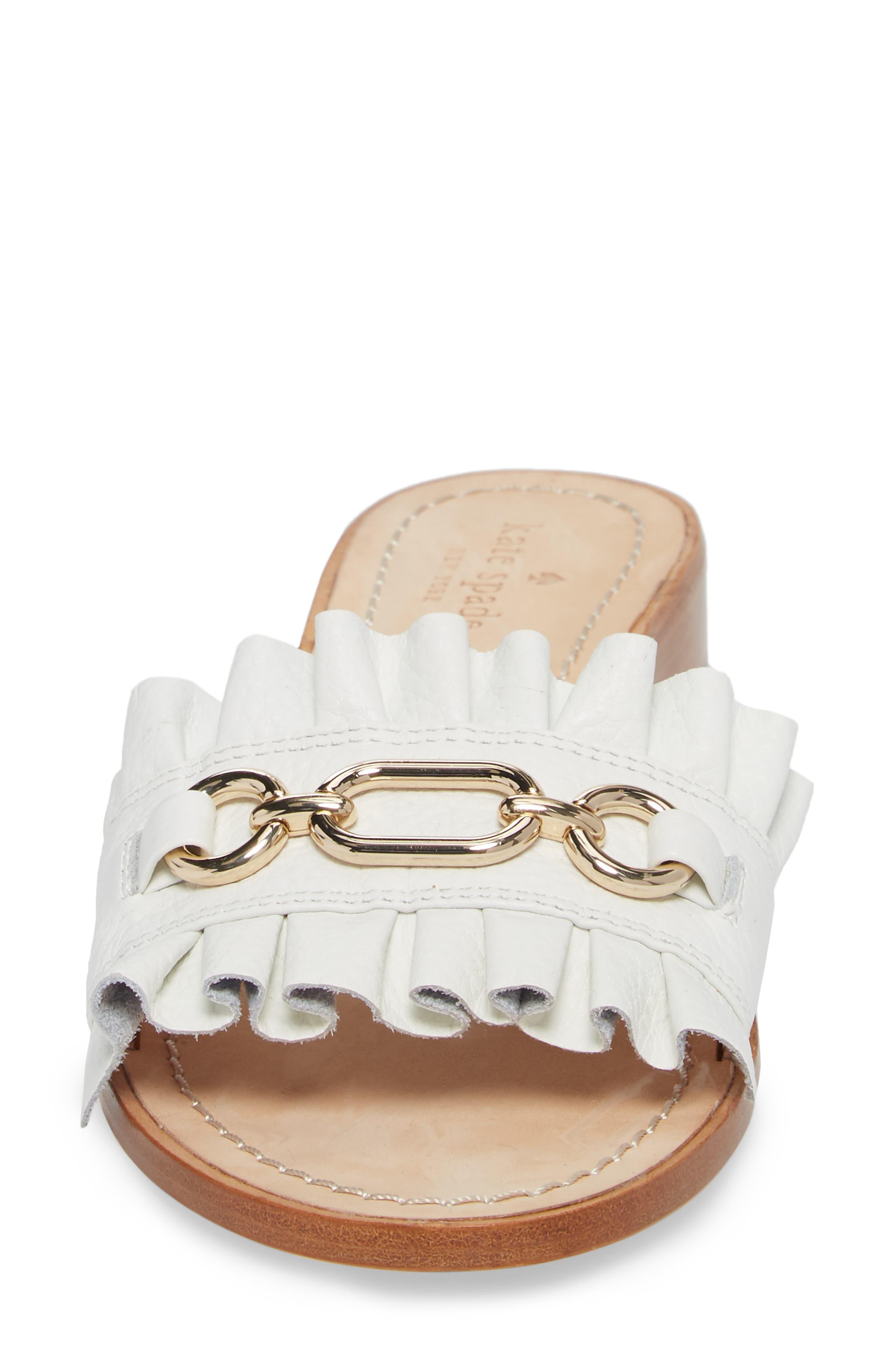Alternate Image 4  - kate spade new york beau slide sandal (Women)