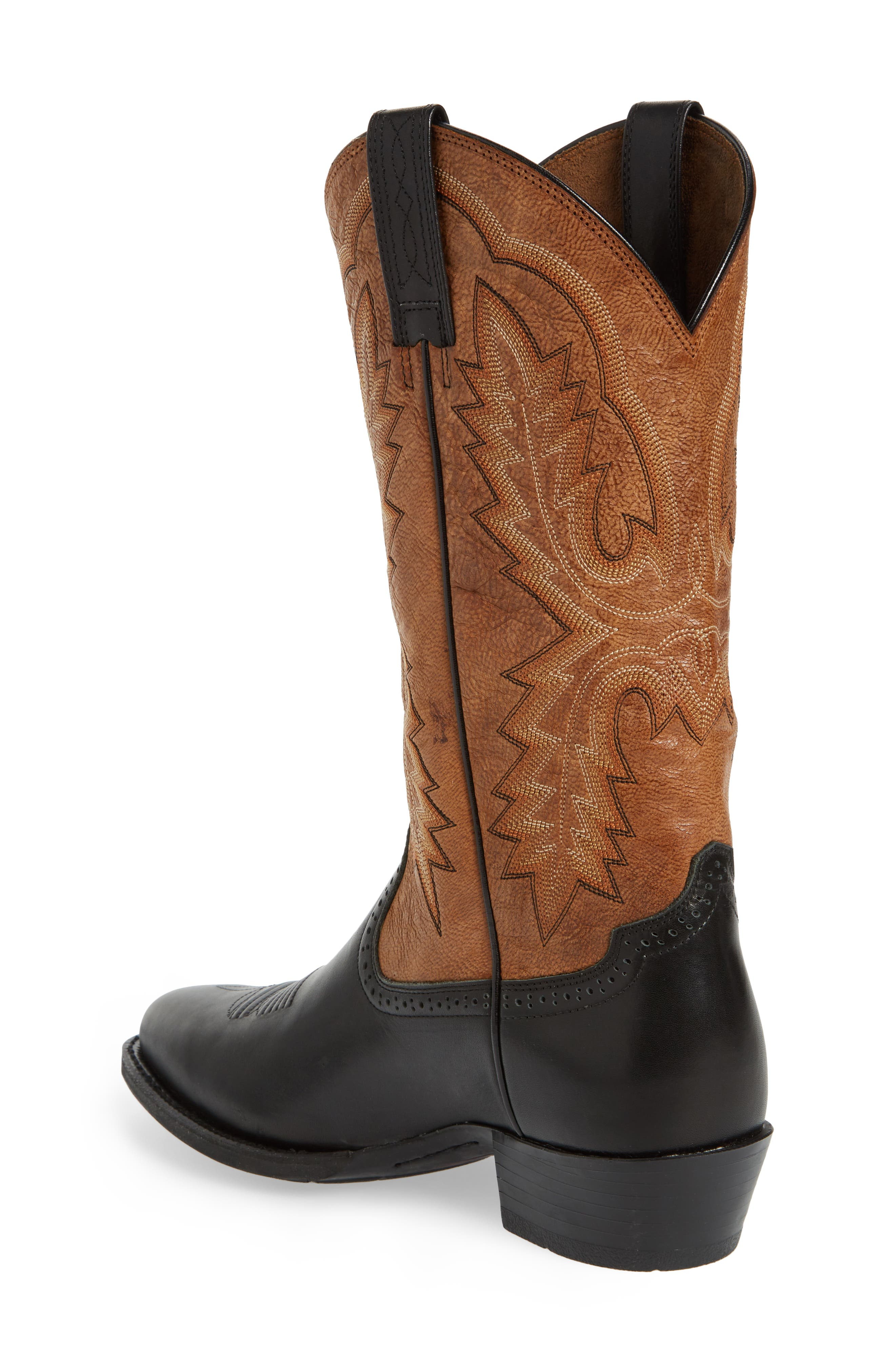 Alternate Image 2  - Ariat Heritage Calhoun Western R-Toe Boot (Men)