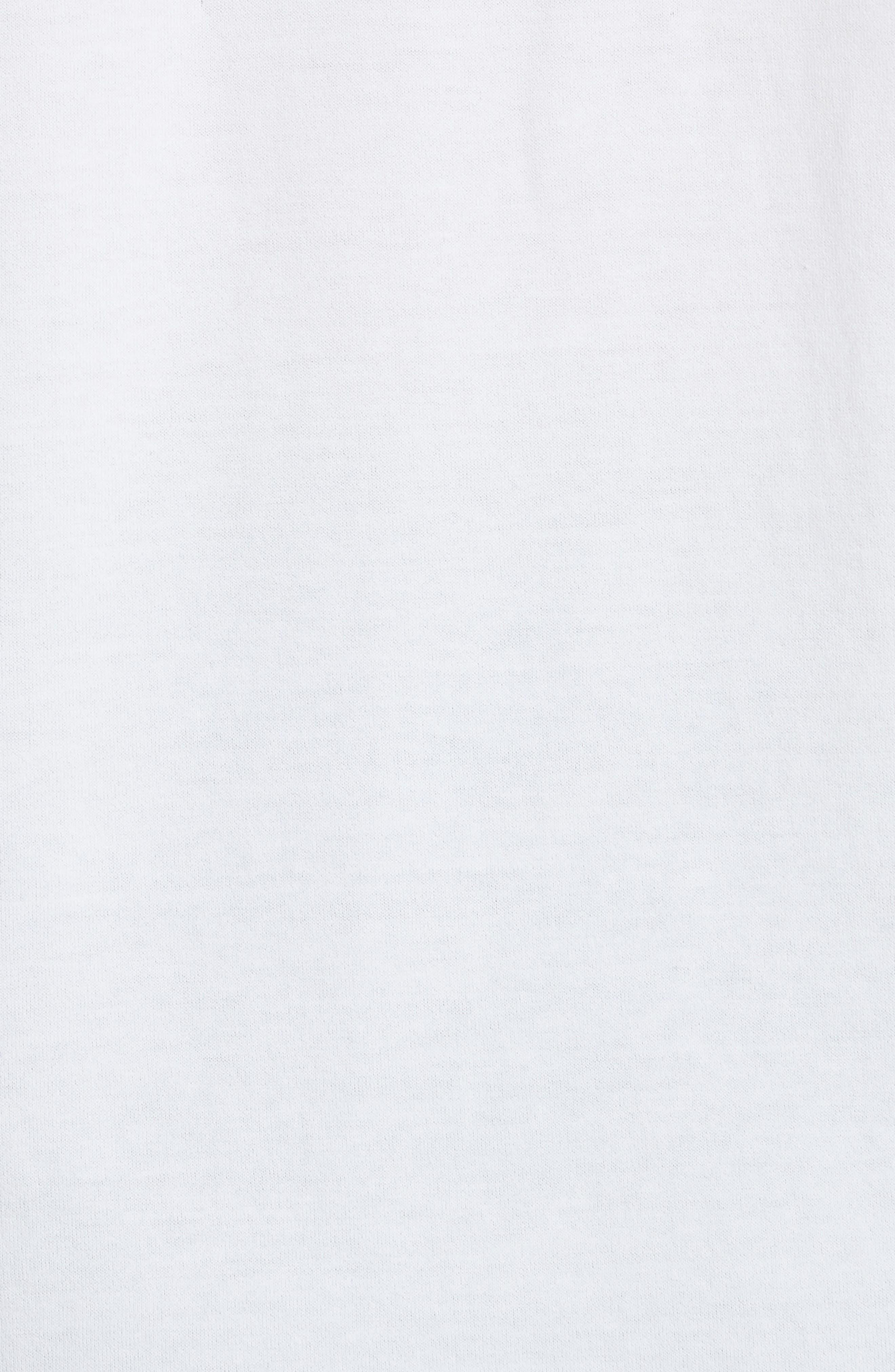 Classic Logo Tee,                             Alternate thumbnail 4, color,                             White