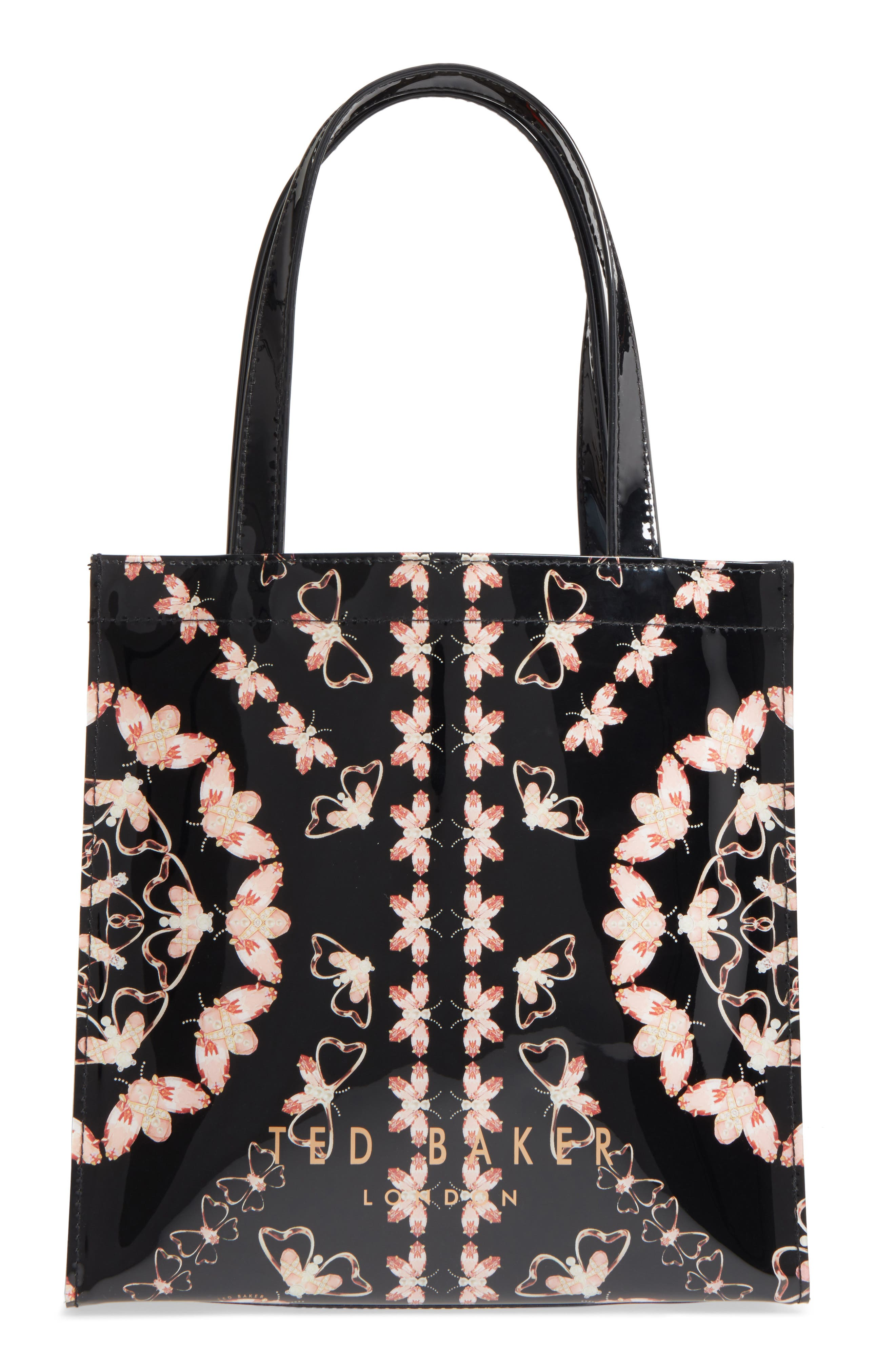 Anncon Queen Bee Icon Tote,                             Alternate thumbnail 3, color,                             Black