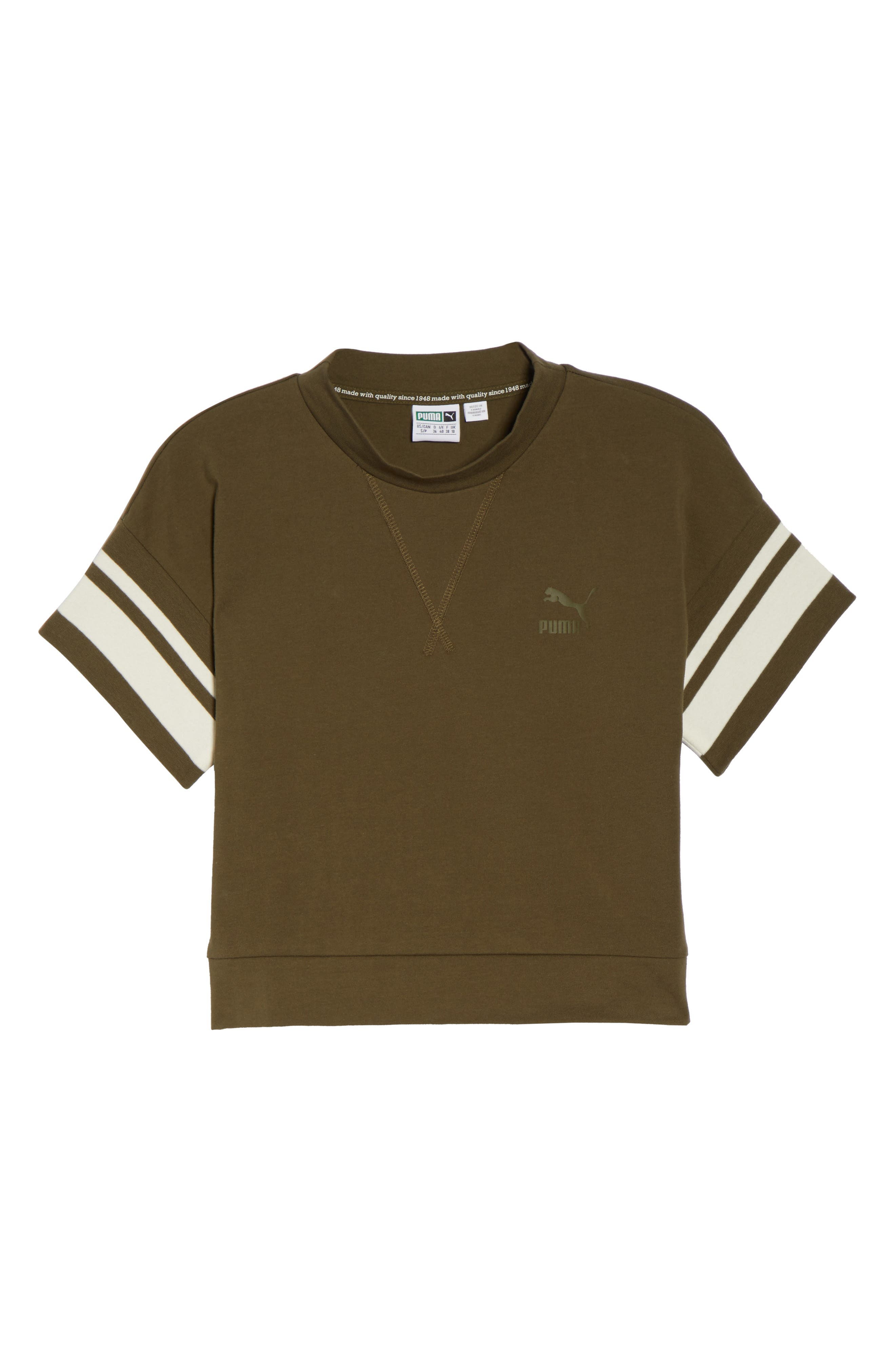Tipping Tee,                             Alternate thumbnail 7, color,                             Olive Night